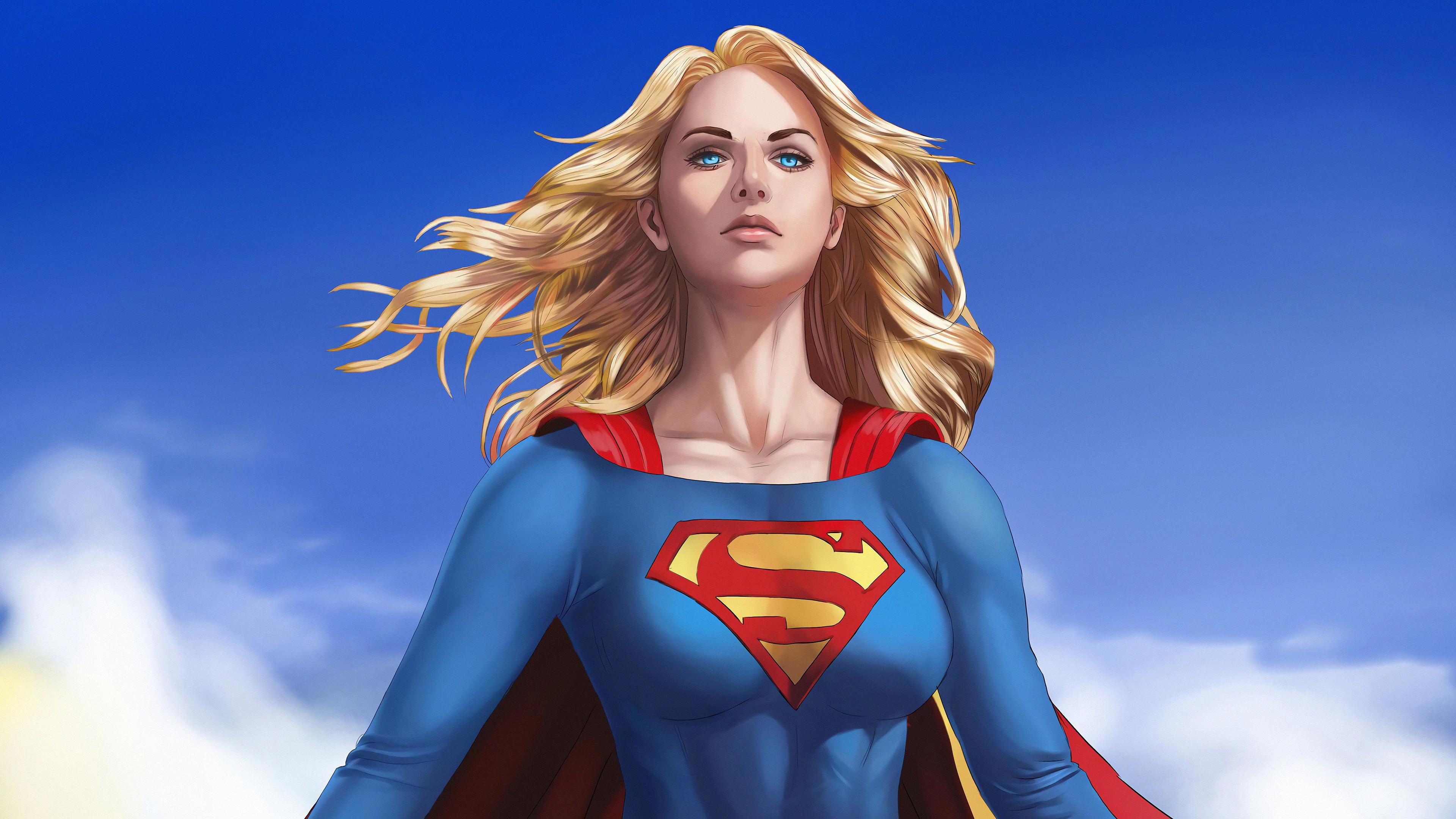 supergirl flying above 1569186870 - Supergirl Flying Above - superheroes wallpapers, supergirl wallpapers, hd-wallpapers, digital art wallpapers, artwork wallpapers, 4k-wallpapers