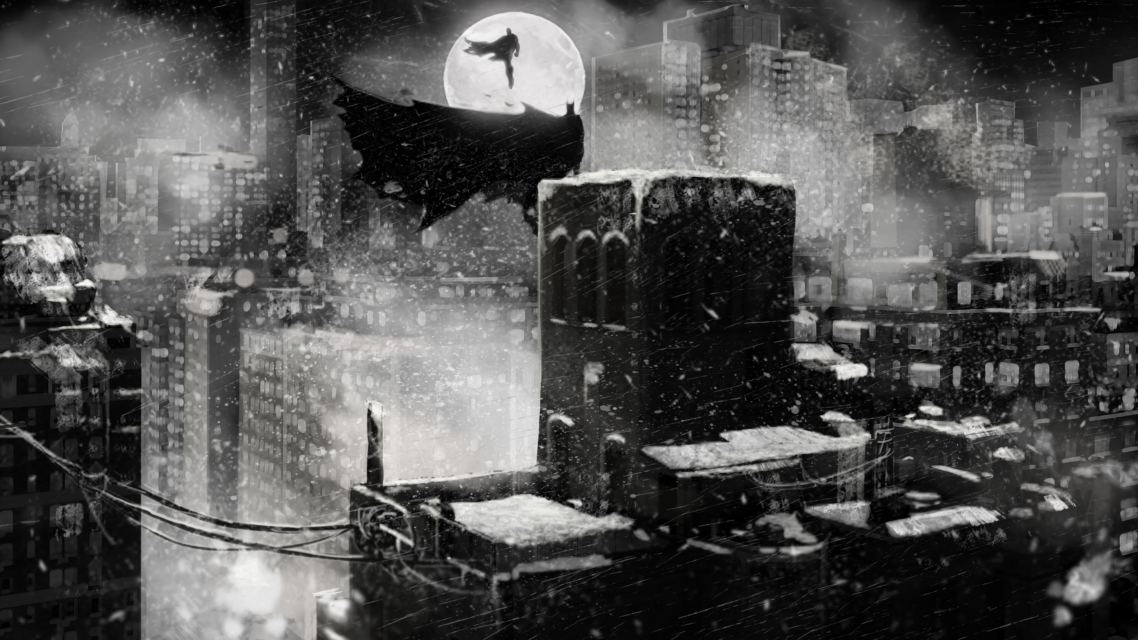 superman batman monochrome 1568054975 - Superman Batman Monochrome - superman wallpapers, superheroes wallpapers, monochrome wallpapers, hd-wallpapers, digital art wallpapers, batman wallpapers, artwork wallpapers, artstation wallpapers, 4k-wallpapers