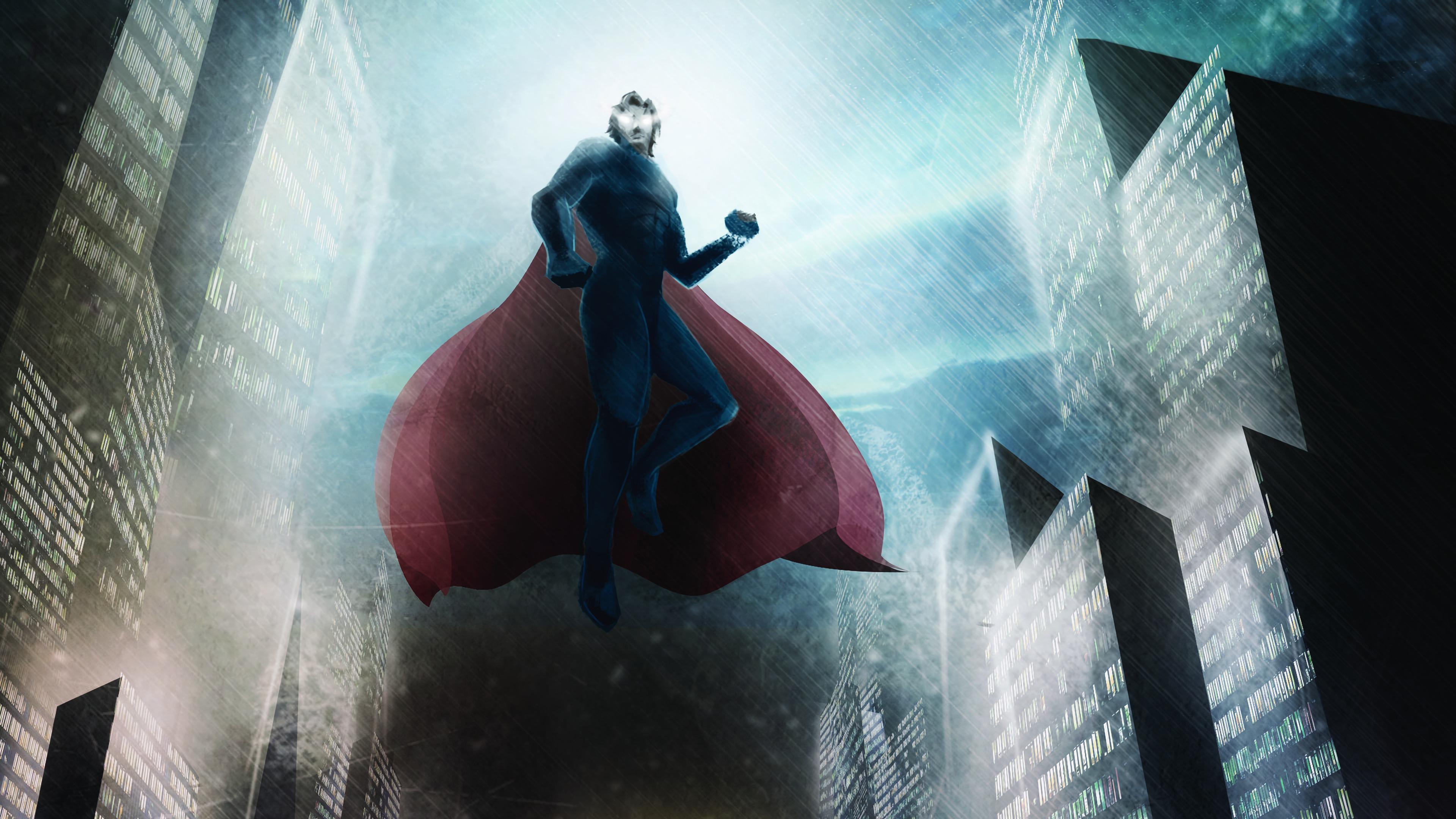superman flying arts 1568054745 - Superman Flying Arts - superman wallpapers, superheroes wallpapers, hd-wallpapers, digital art wallpapers, artwork wallpapers, artstation wallpapers, 4k-wallpapers