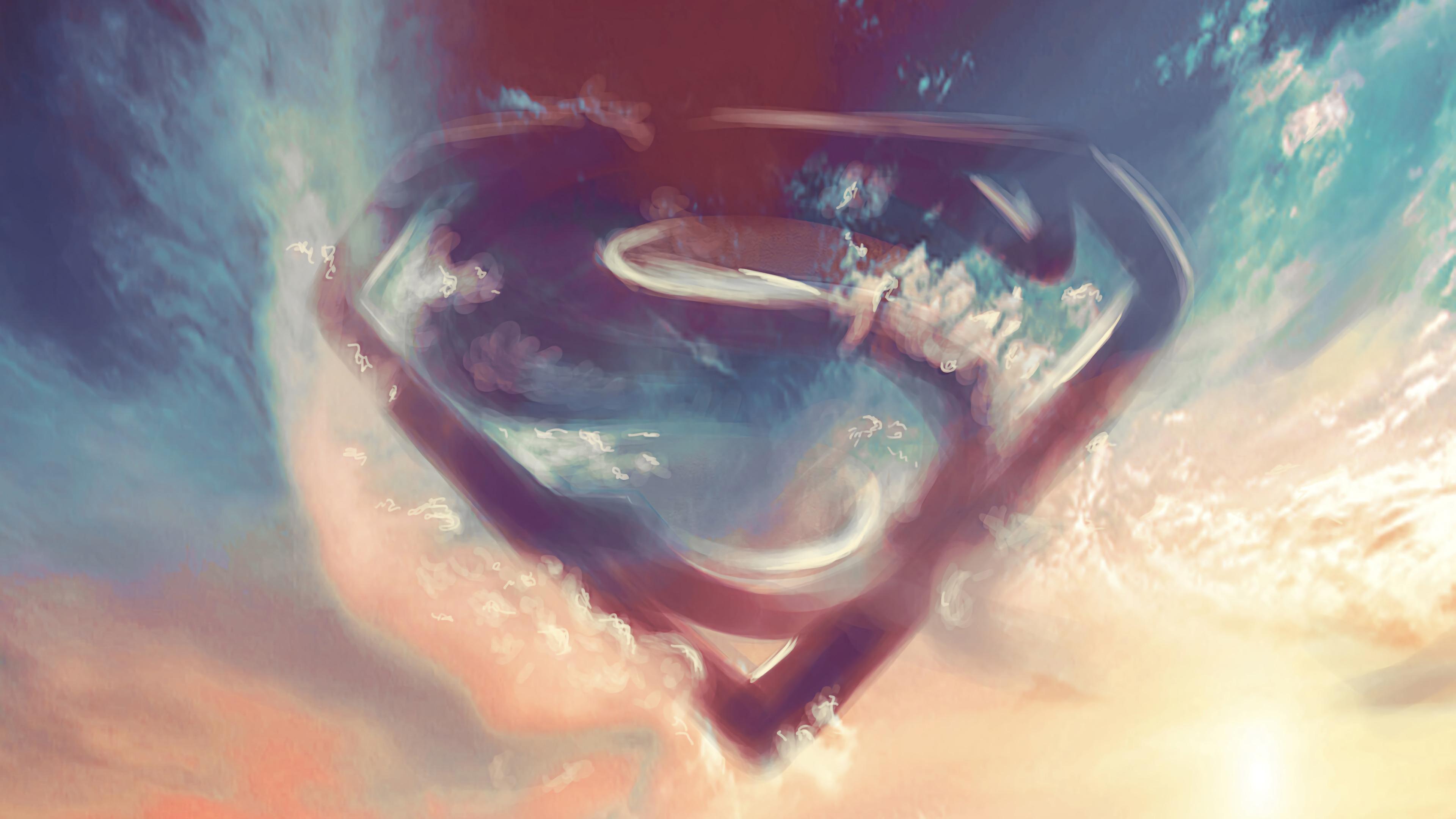 superman logo in clouds 1568055135 - Superman Logo In Clouds - superman wallpapers, superheroes wallpapers, logo wallpapers, hd-wallpapers, digital art wallpapers, artwork wallpapers, artstation wallpapers, 4k-wallpapers