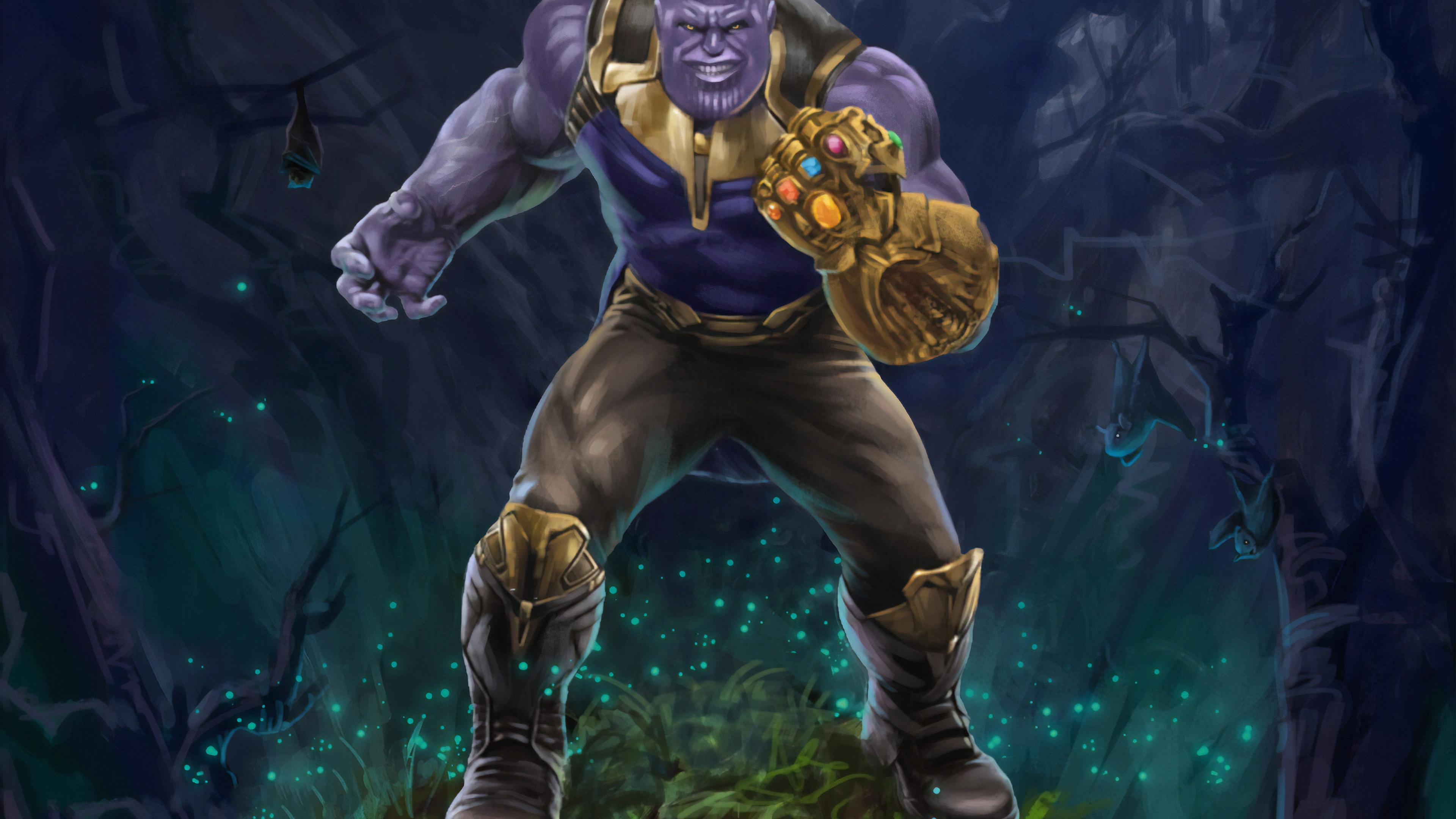thanos 2019 new 1569186878 - Thanos 2019 New - thanos-wallpapers, superheroes wallpapers, hd-wallpapers, digital art wallpapers, artwork wallpapers, artstation wallpapers, 4k-wallpapers