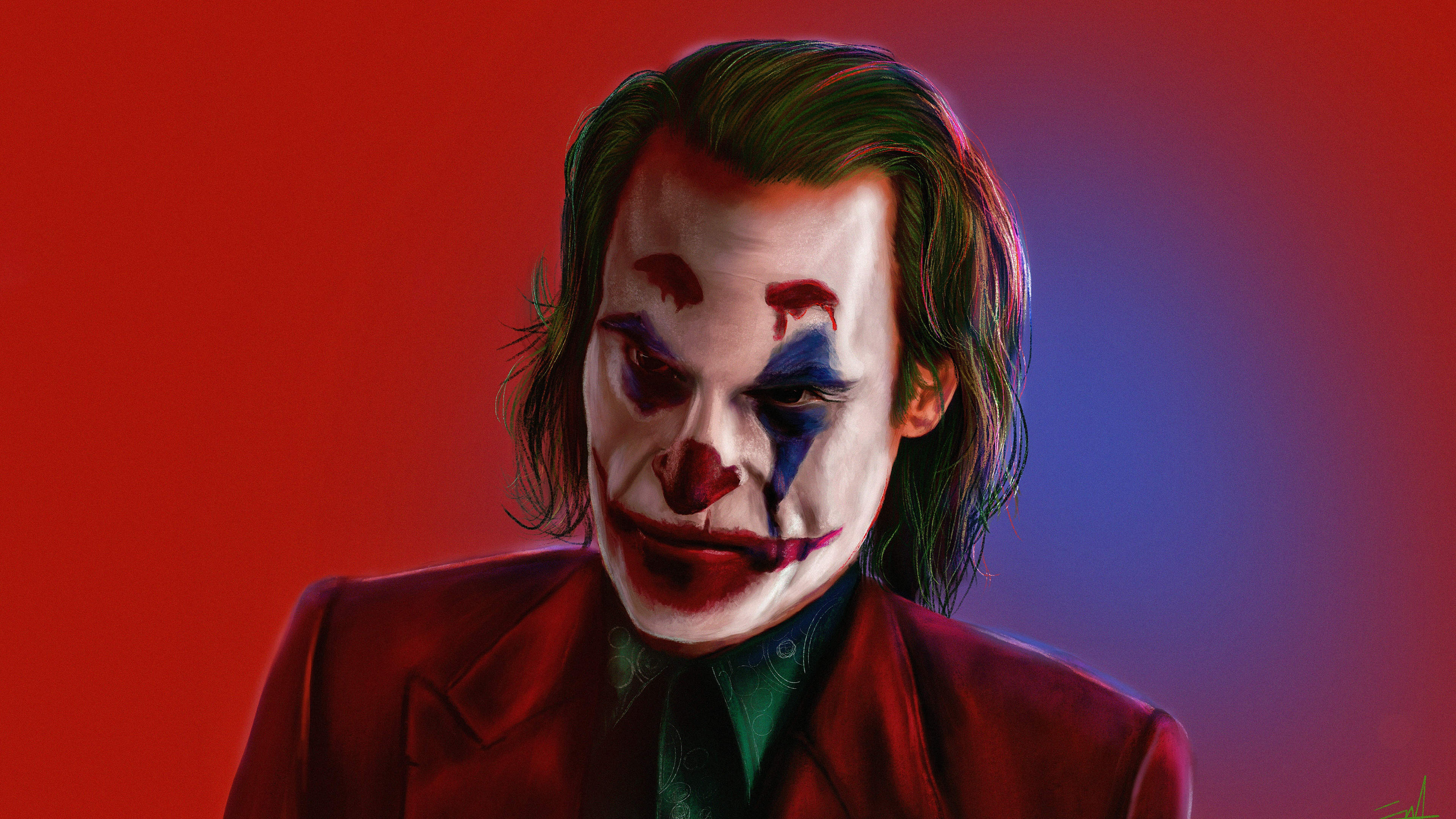 the joker joaquin phoenix artwork 1569186964 - The Joker Joaquin Phoenix Artwork - supervillain wallpapers, superheroes wallpapers, joker wallpapers, joker movie wallpapers, joaquin phoenix wallpapers, hd-wallpapers, digital art wallpapers, behance wallpapers, artwork wallpapers, artist wallpapers, 4k-wallpapers