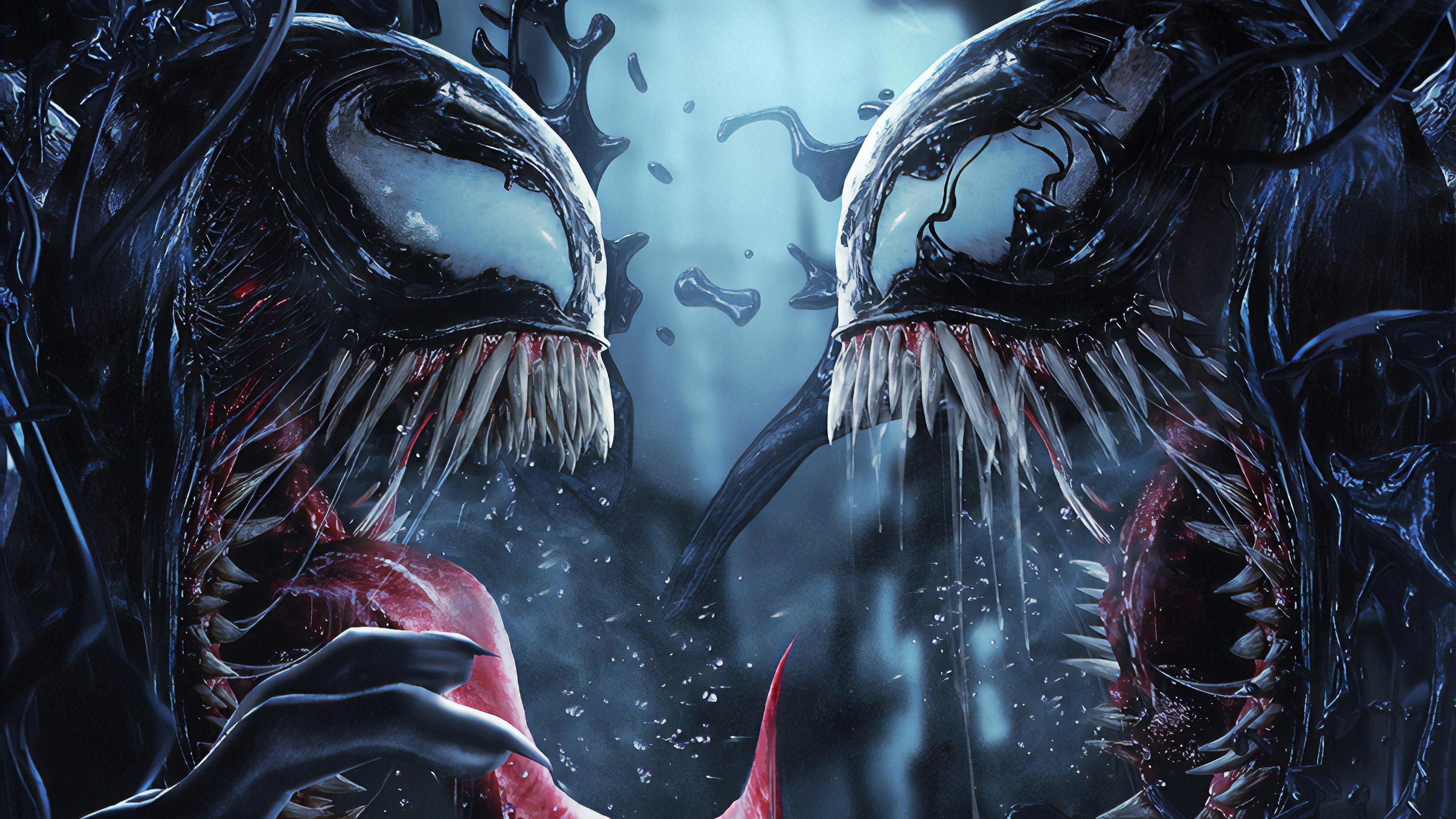 venom vs riot art 1569186885 - Venom Vs Riot Art - Venom wallpapers, superheroes wallpapers, hd-wallpapers, artwork wallpapers, artstation wallpapers, 4k-wallpapers