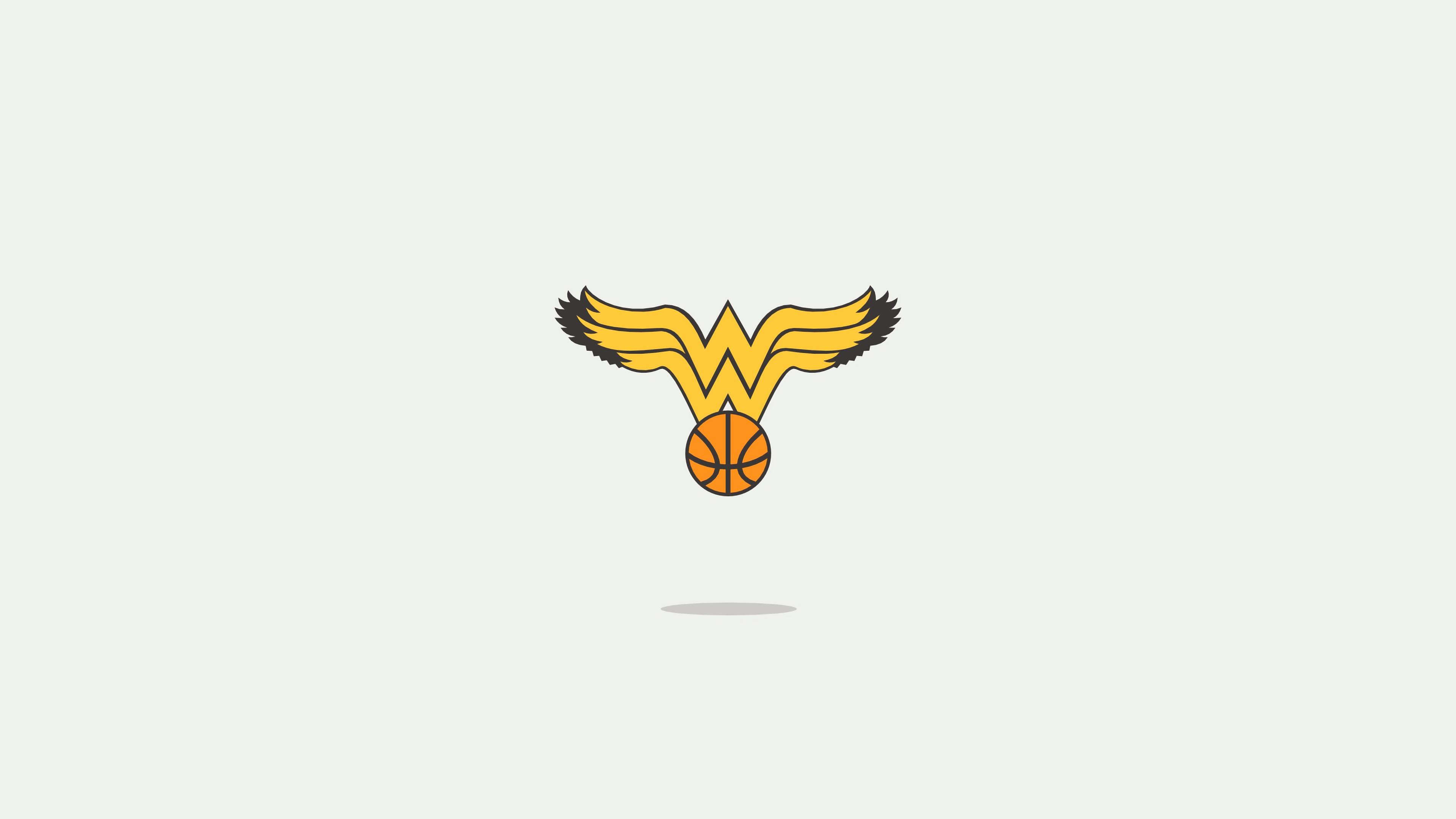 wonder woman minimal logo 1568055374 - Wonder Woman Minimal Logo - wonder woman wallpapers, superheroes wallpapers, minimalist wallpapers, minimalism wallpapers, hd-wallpapers, behance wallpapers, 4k-wallpapers