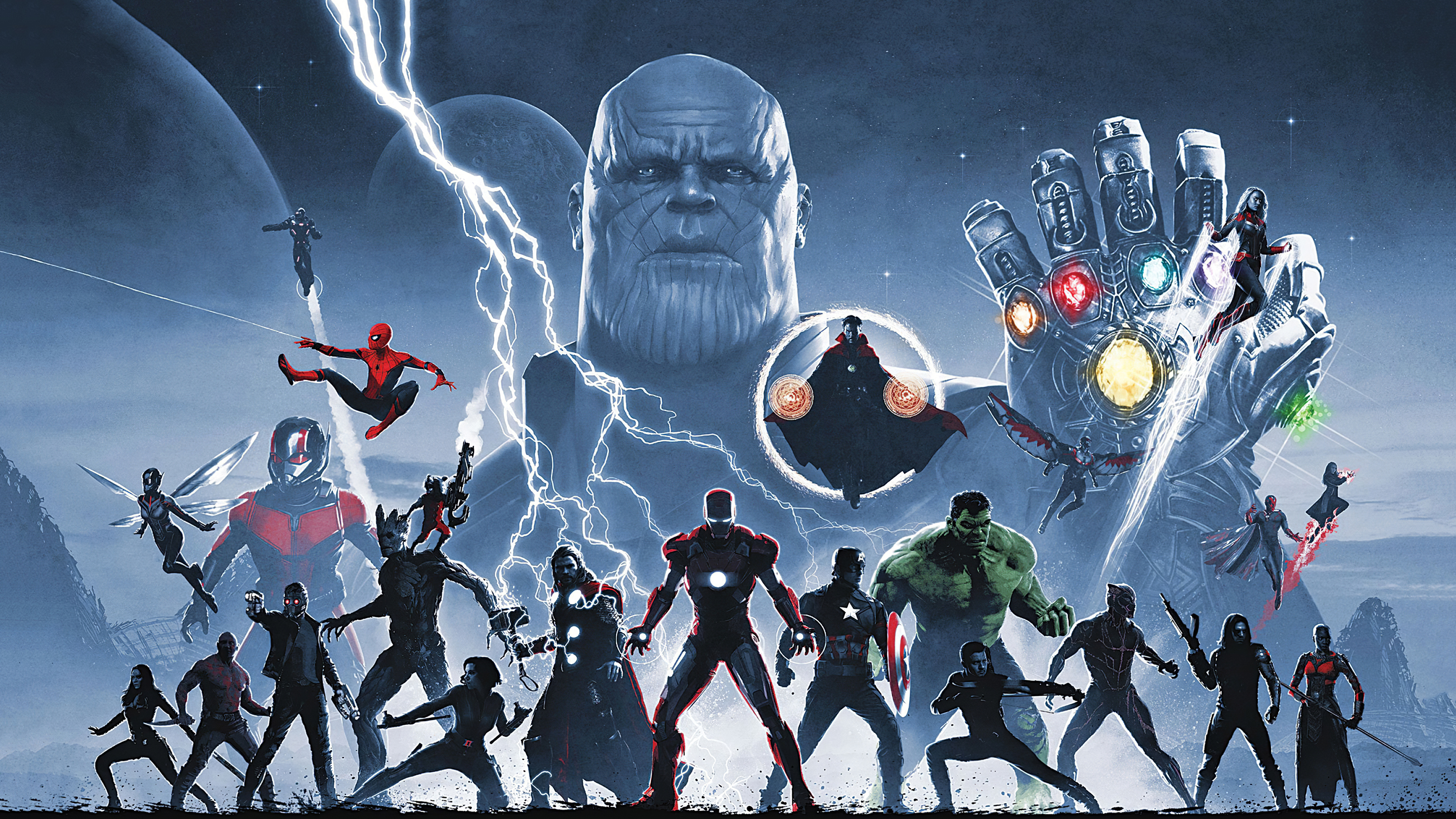 avengers infinity saga 1572368769 - Avengers Infinity Saga - war machine wallpapers, thor wallpapers, thanos-wallpapers, superheroes wallpapers, spiderman wallpapers, iron man wallpapers, hulk wallpapers, hd-wallpapers, captain marvel wallpapers, captain america wallpapers, avengers-wallpapers, artwork wallpapers, 4k-wallpapers