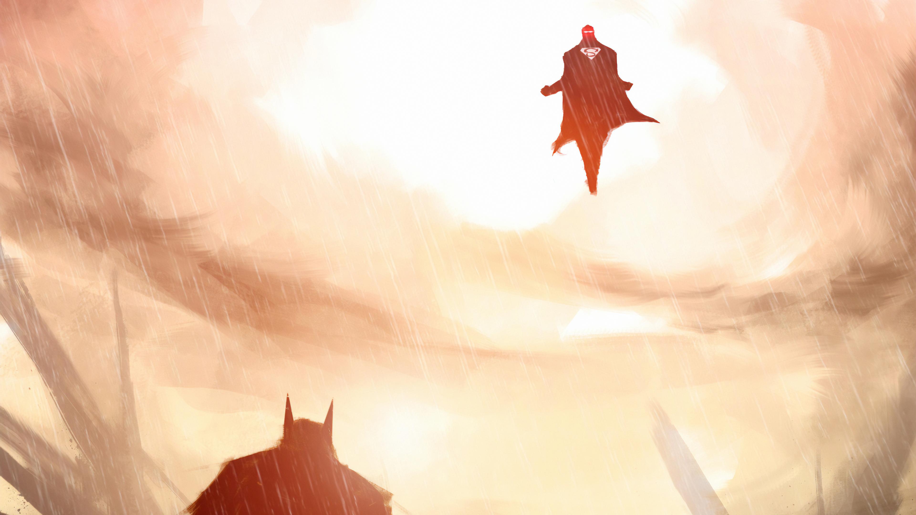 batman and superman art 1570394505 - Batman And Superman art - superman wallpapers, superheroes wallpapers, hd-wallpapers, digital art wallpapers, batman wallpapers, artwork wallpapers, artstation wallpapers, 4k-wallpapers