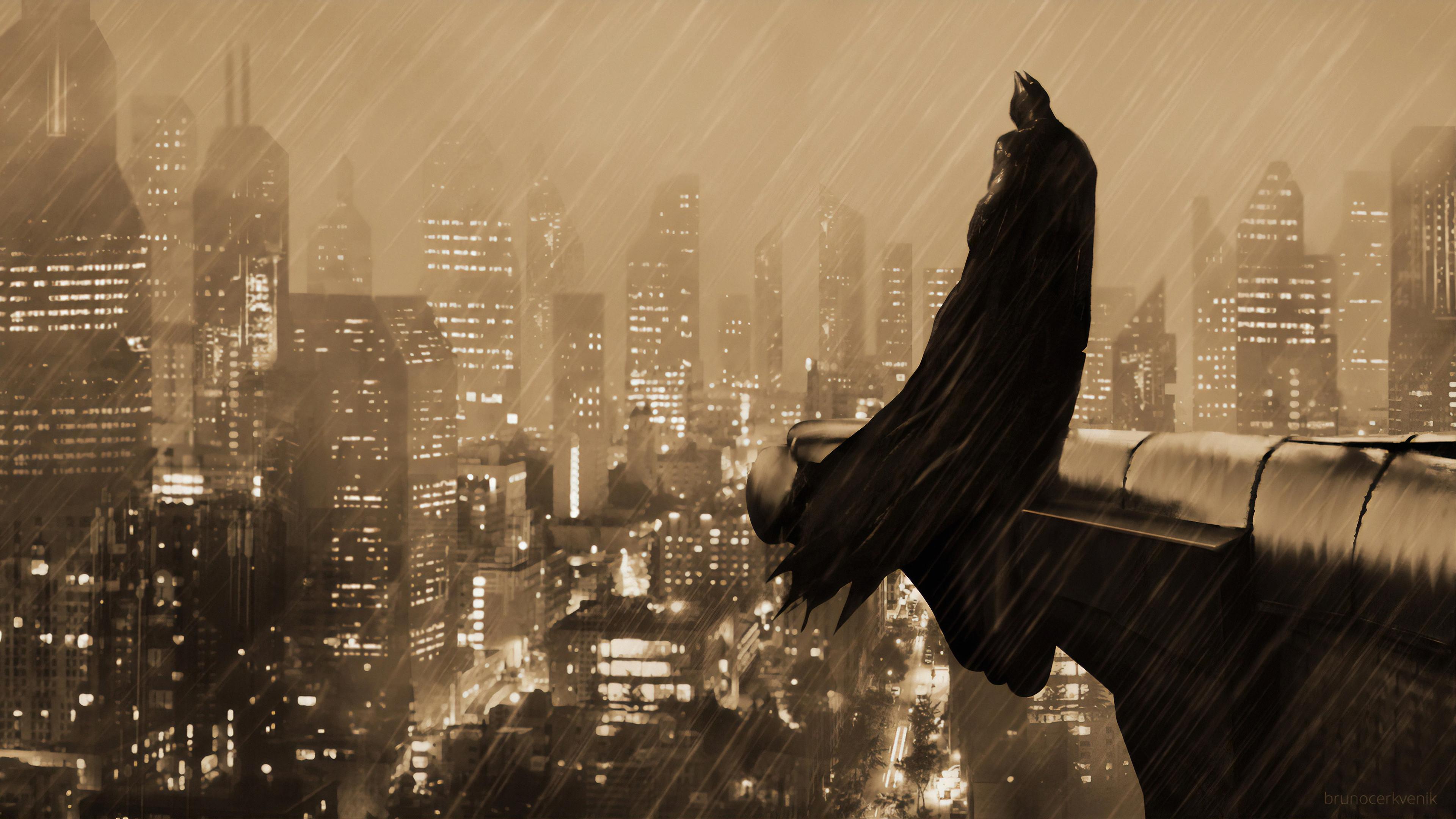 batman gotham art 1570394201 - Batman Gotham Art - superheroes wallpapers, hd-wallpapers, digital art wallpapers, batman wallpapers, artwork wallpapers, artstation wallpapers, 4k-wallpapers
