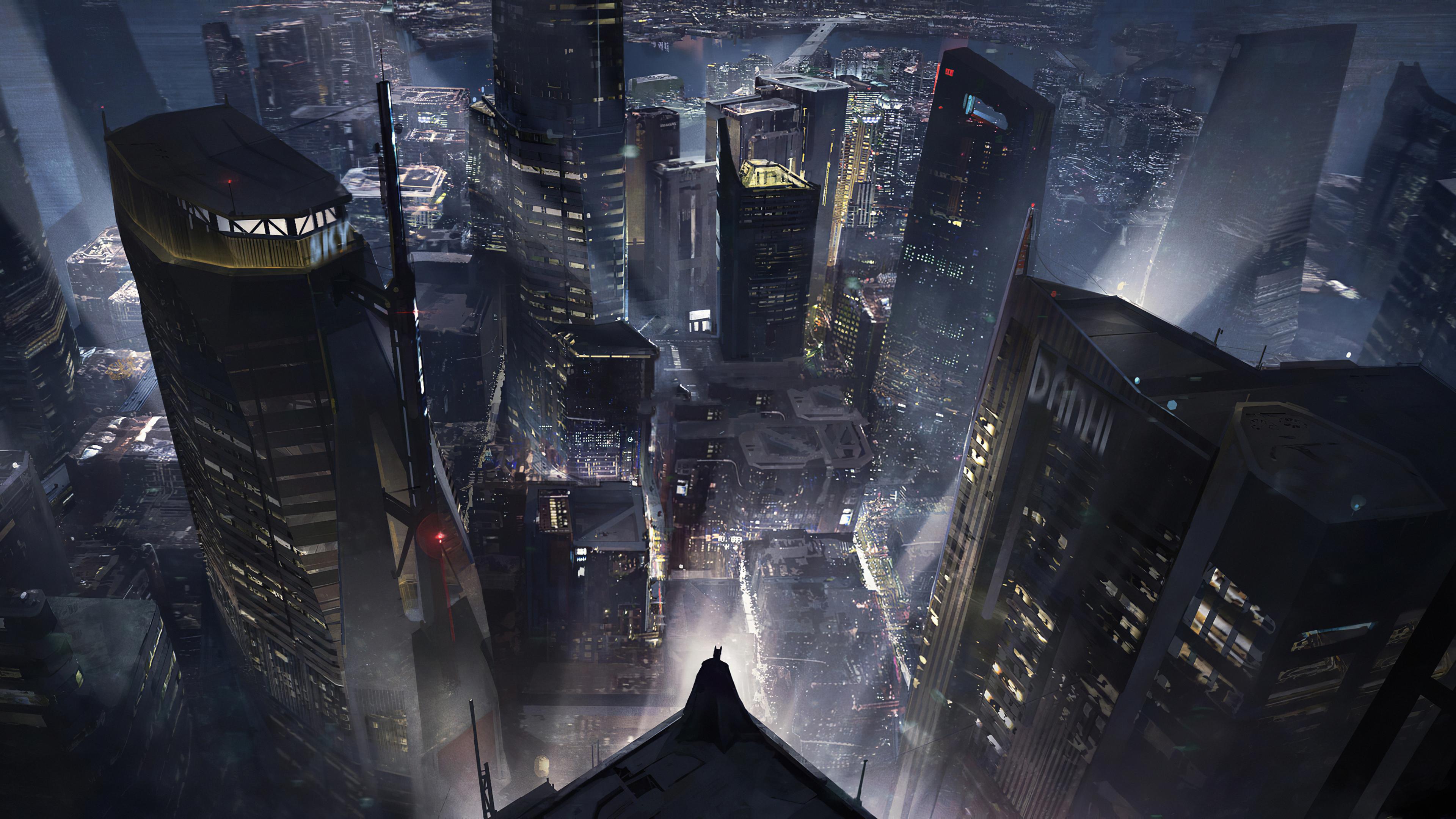 Wallpaper 4k Batman Gotham City New 4k Wallpapers