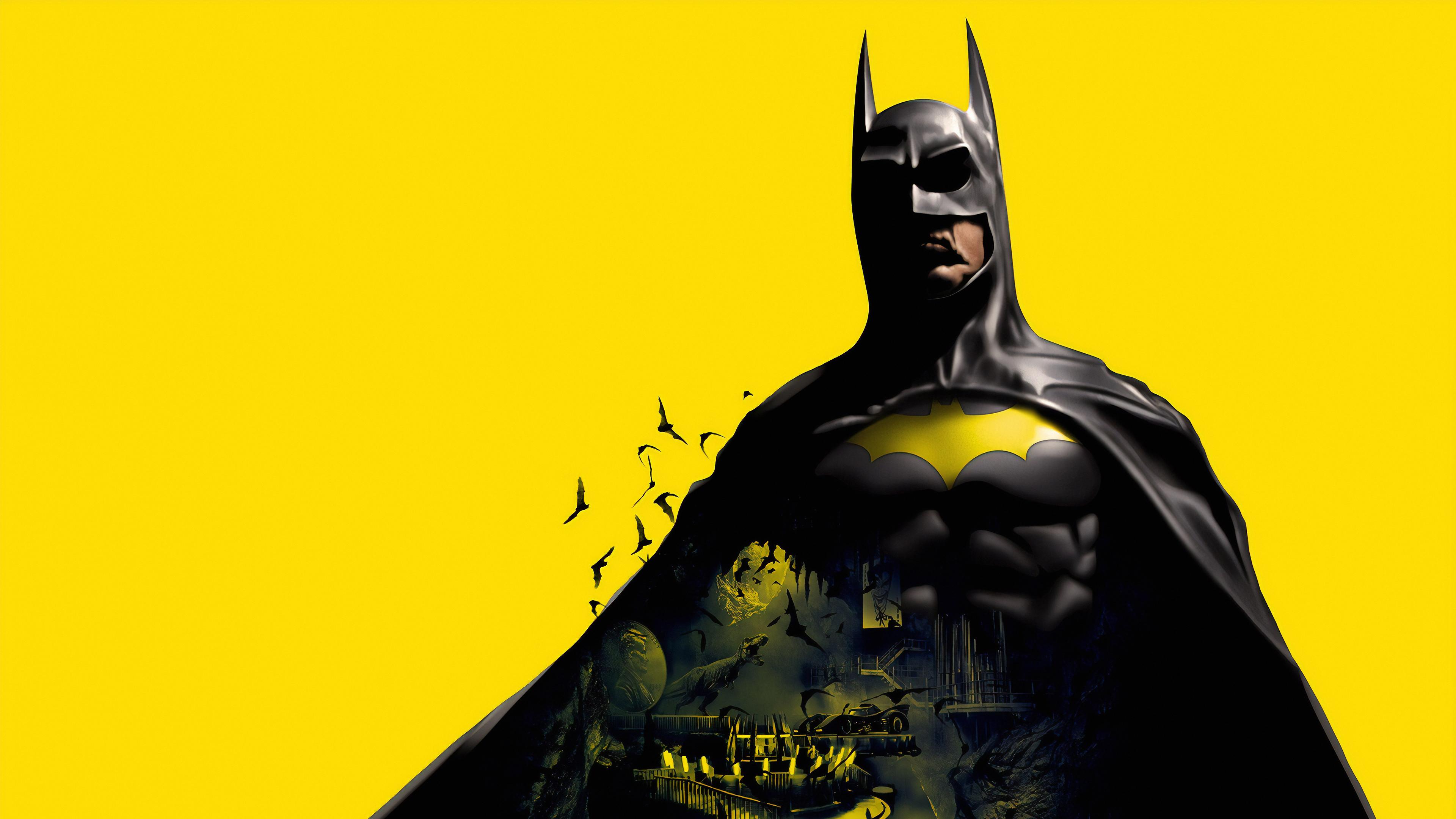 batman yellow background 1572368685 - Batman Yellow Background - superheroes wallpapers, hd-wallpapers, digital art wallpapers, batman wallpapers, artwork wallpapers, 4k-wallpapers