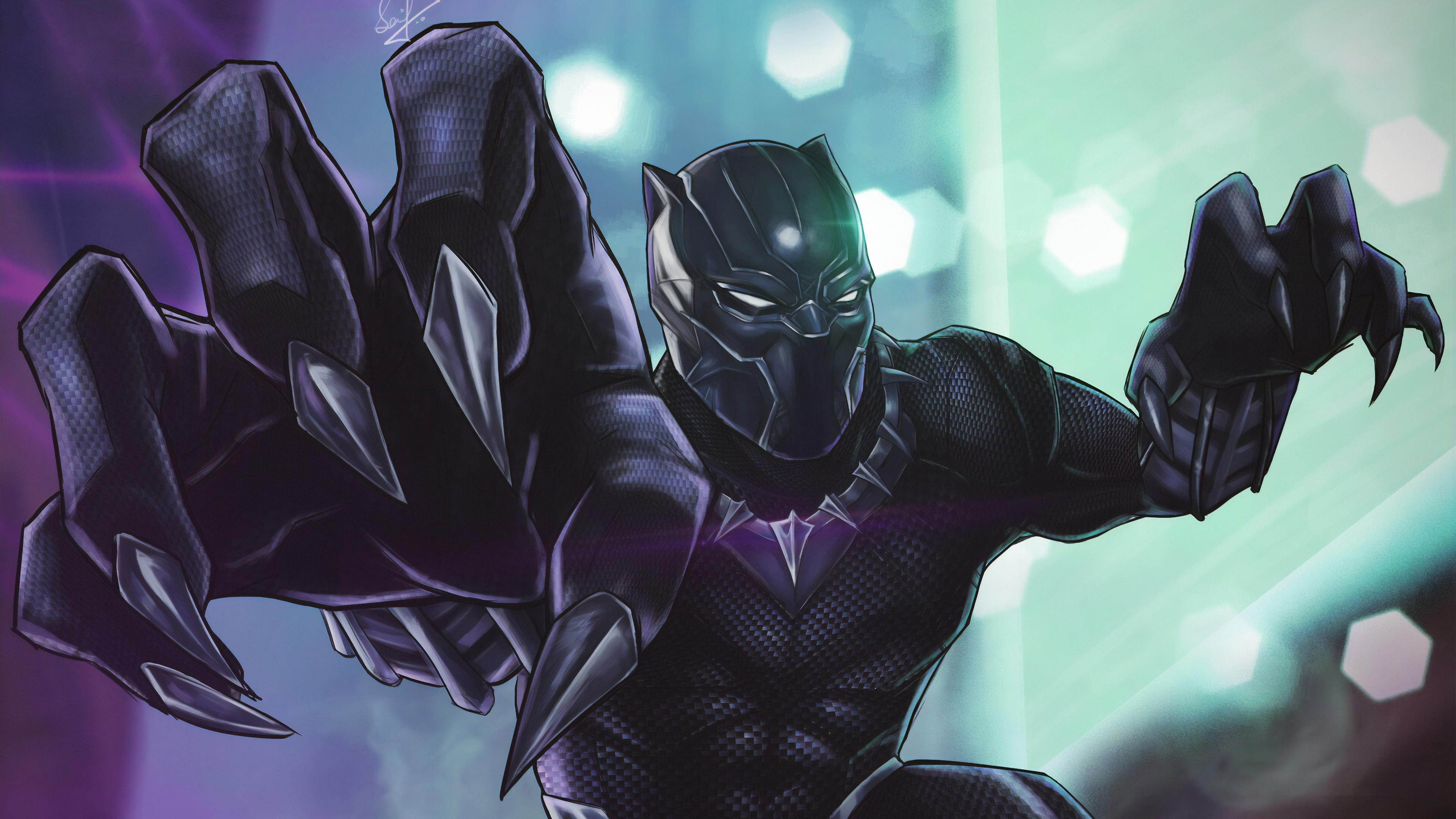 black panther arts 1570394326 - Black Panther arts - superheroes wallpapers, hd-wallpapers, black panther wallpapers, artwork wallpapers, artstation wallpapers, 4k-wallpapers