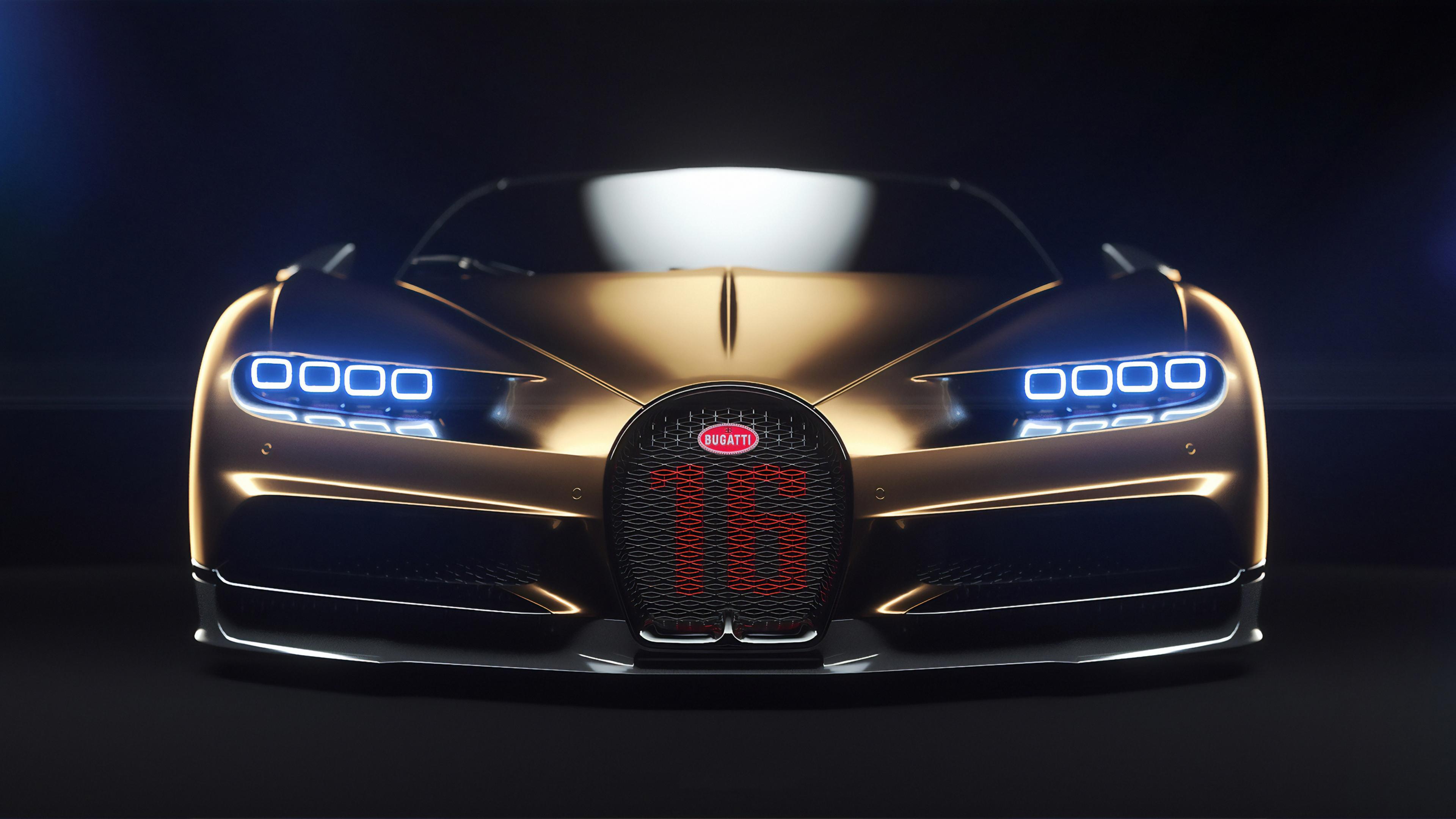 bugatti chiron front 1570919111 - Bugatti Chiron Front - hd-wallpapers, cars wallpapers, bugatti chiron wallpapers, 4k-wallpapers