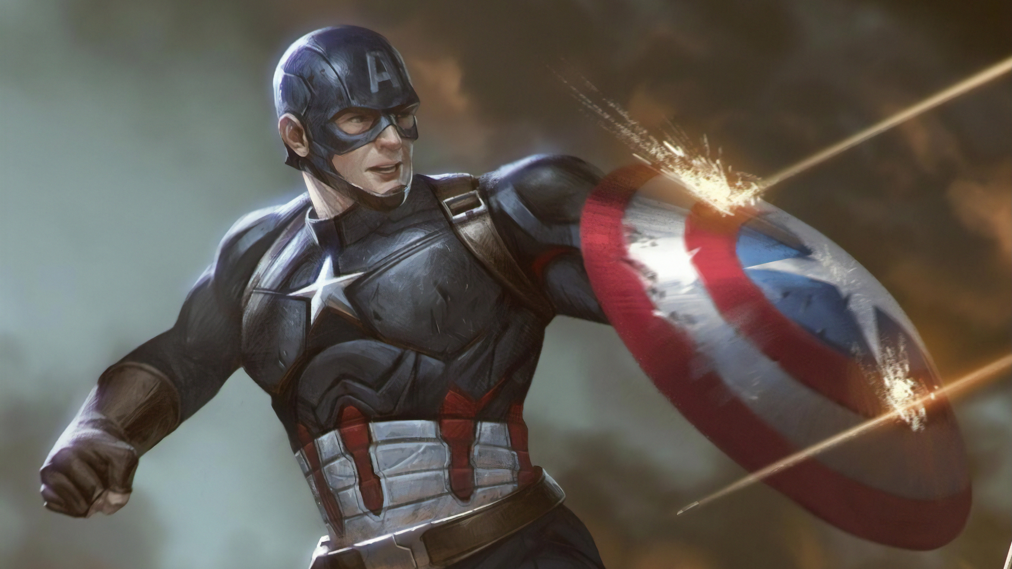 captain america and shield 1570918451 - Captain America And Shield - superheroes wallpapers, hd-wallpapers, digital art wallpapers, deviantart wallpapers, captain america wallpapers, artwork wallpapers, artist wallpapers, 4k-wallpapers