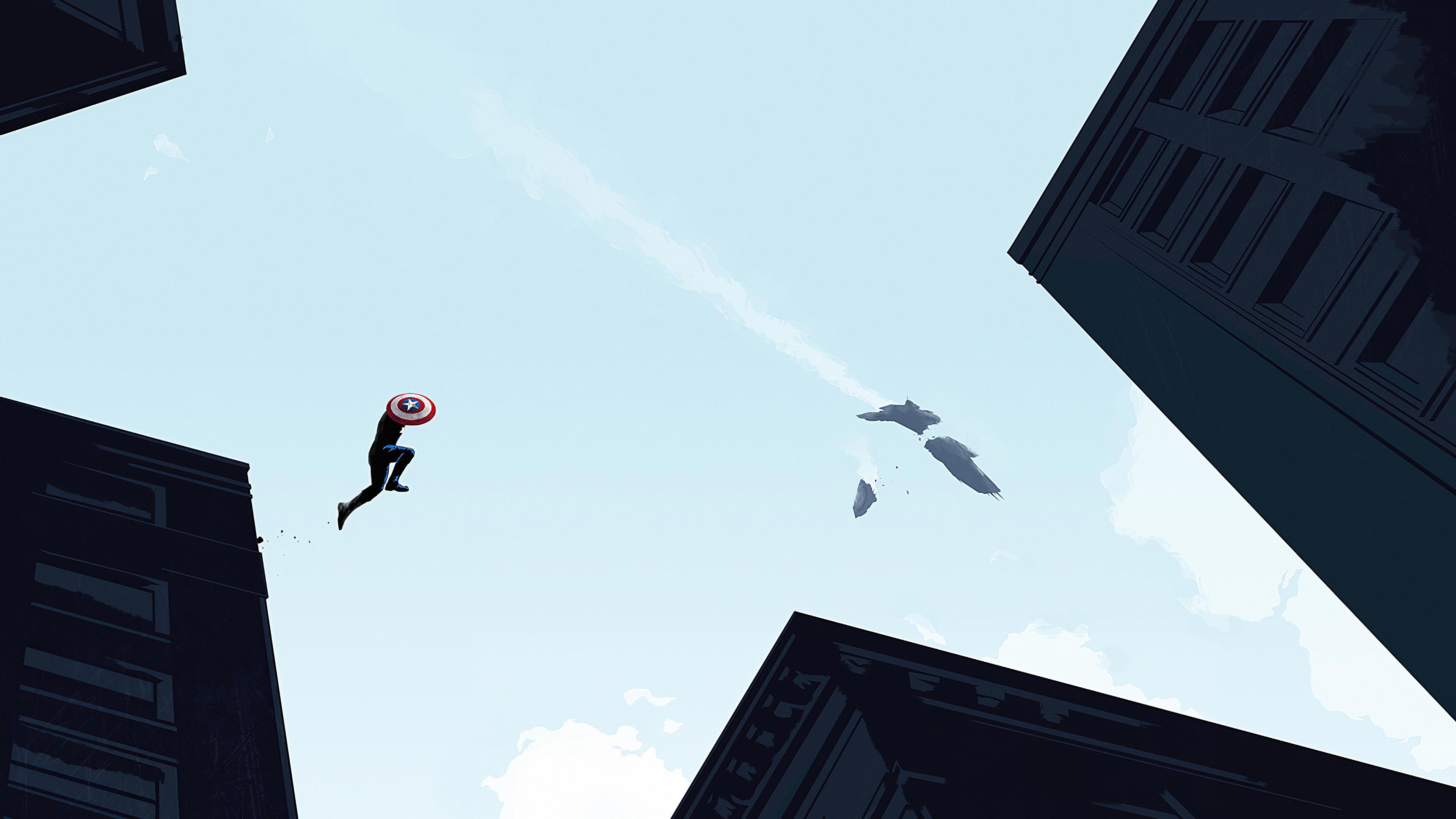 captain america jump 1572368687 - Captain America Jump - superheroes wallpapers, hd-wallpapers, captain america wallpapers, artwork wallpapers, 4k-wallpapers