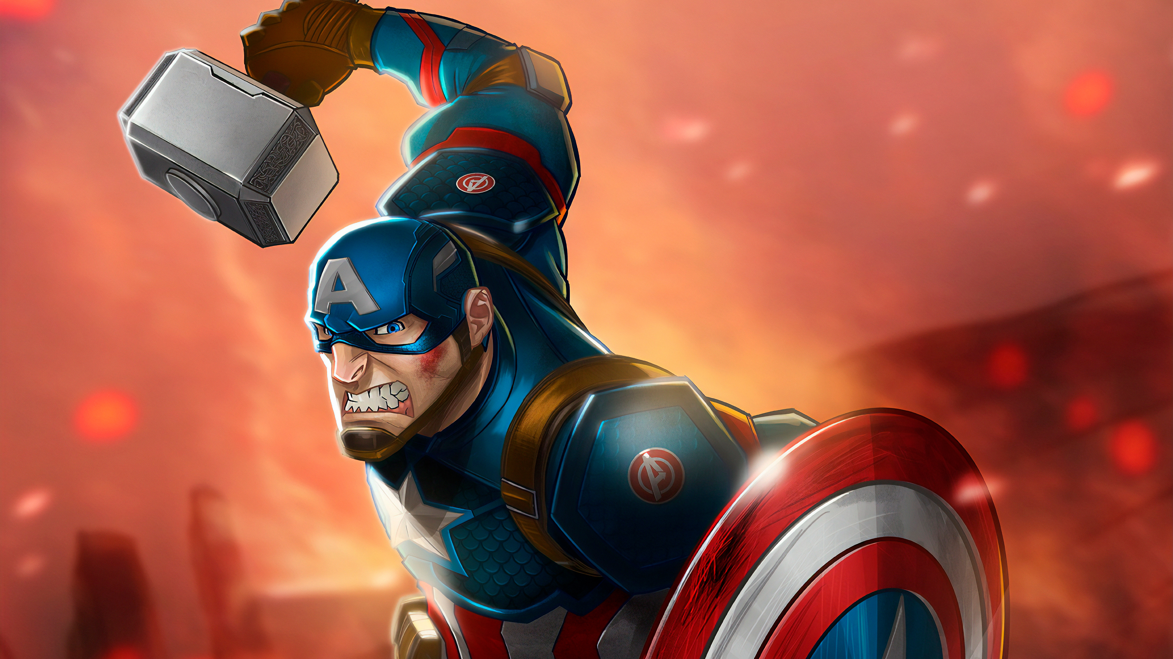 captain america mjolnir art hd 1570394695 - Captain America Mjolnir Art Hd - superheroes wallpapers, hd-wallpapers, captain america wallpapers, artwork wallpapers