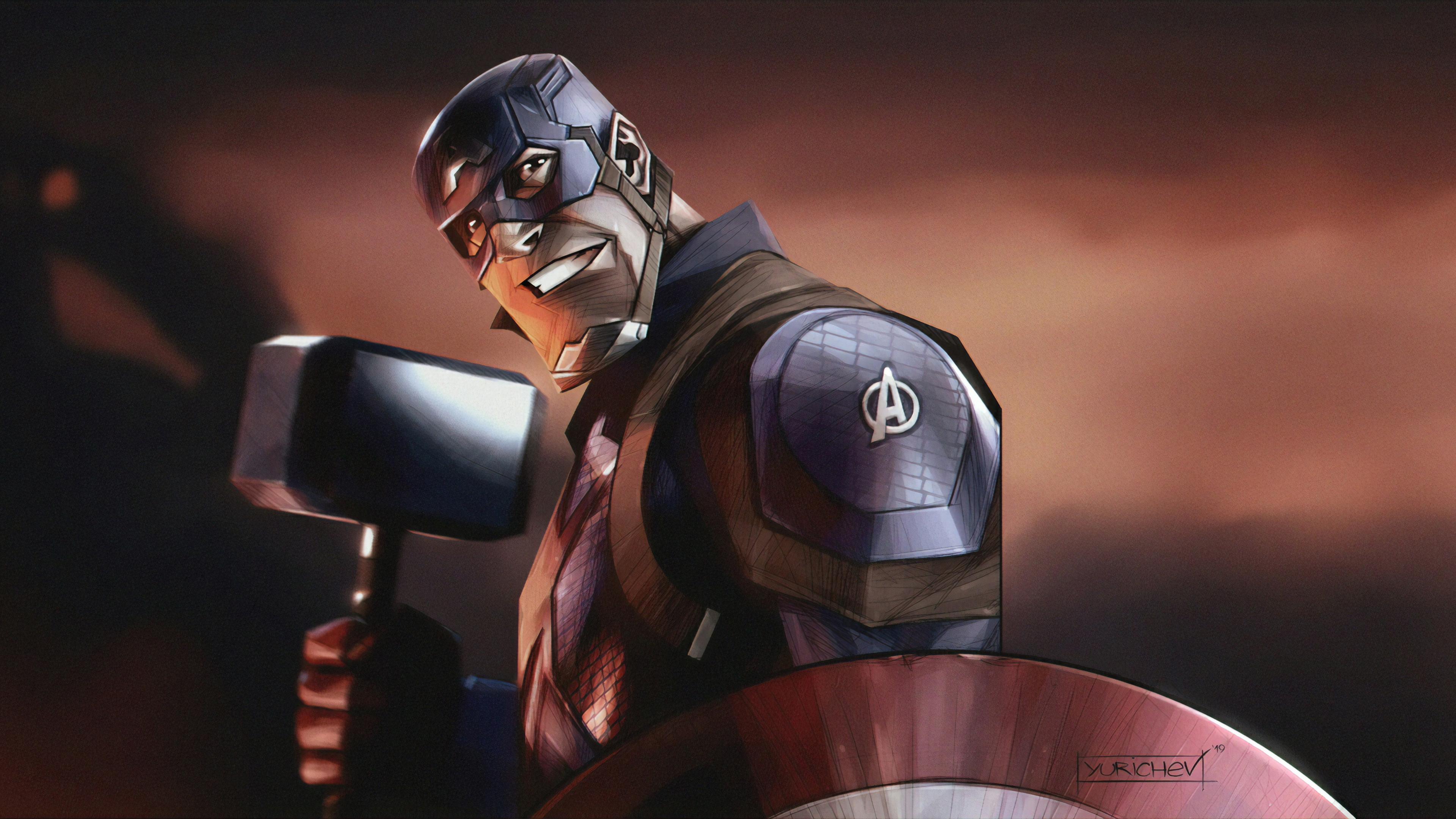 captain america mjolnir hd 1570394252 - Captain America Mjolnir Hd - superheroes wallpapers, hd-wallpapers, digital art wallpapers, captain america wallpapers, artwork wallpapers, artstation wallpapers, 4k-wallpapers