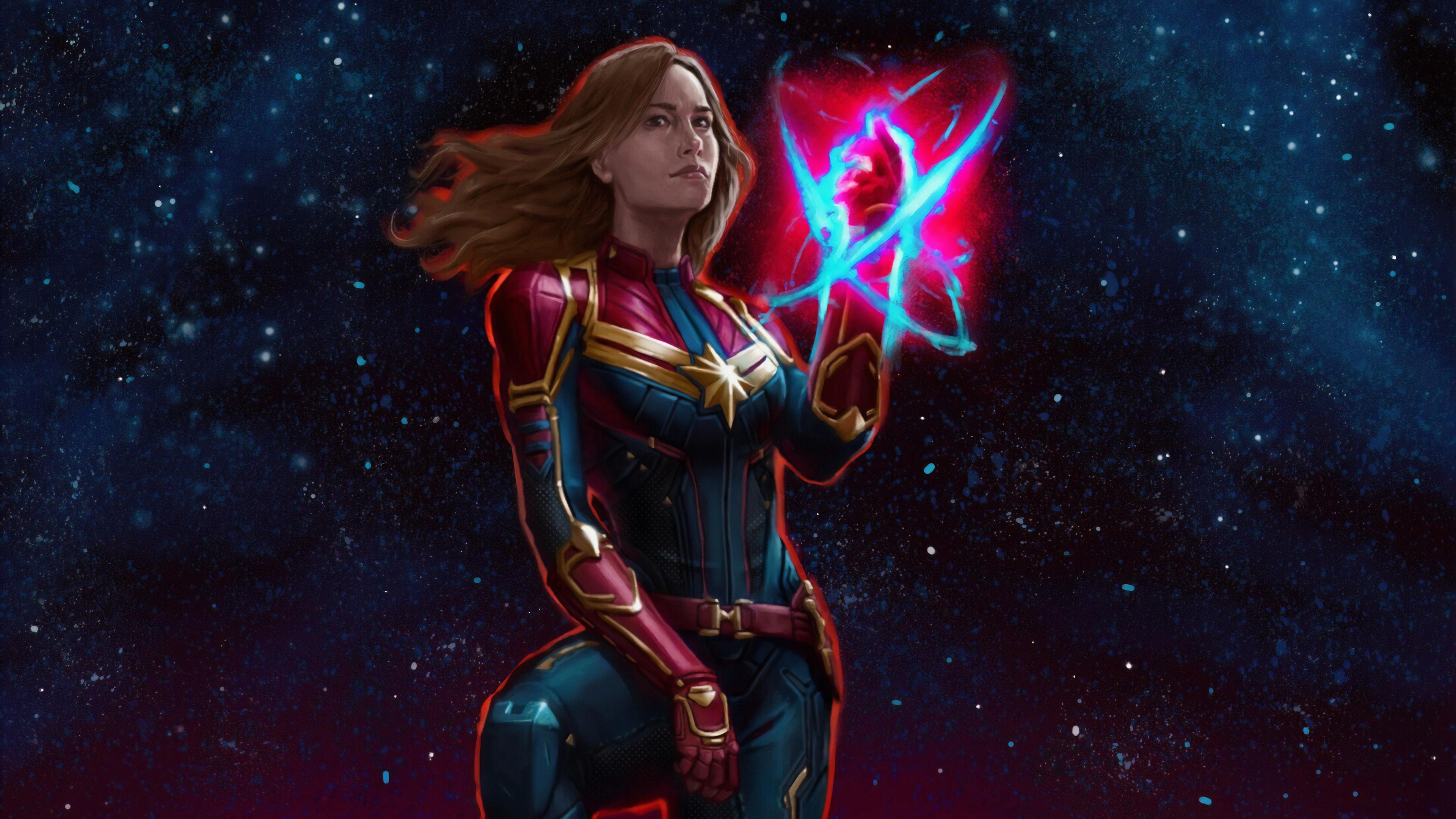 captain miss marvel 1570918481 - Captain Miss Marvel - superheroes wallpapers, hd-wallpapers, captain marvel wallpapers, artwork wallpapers, art wallpapers, 4k-wallpapers