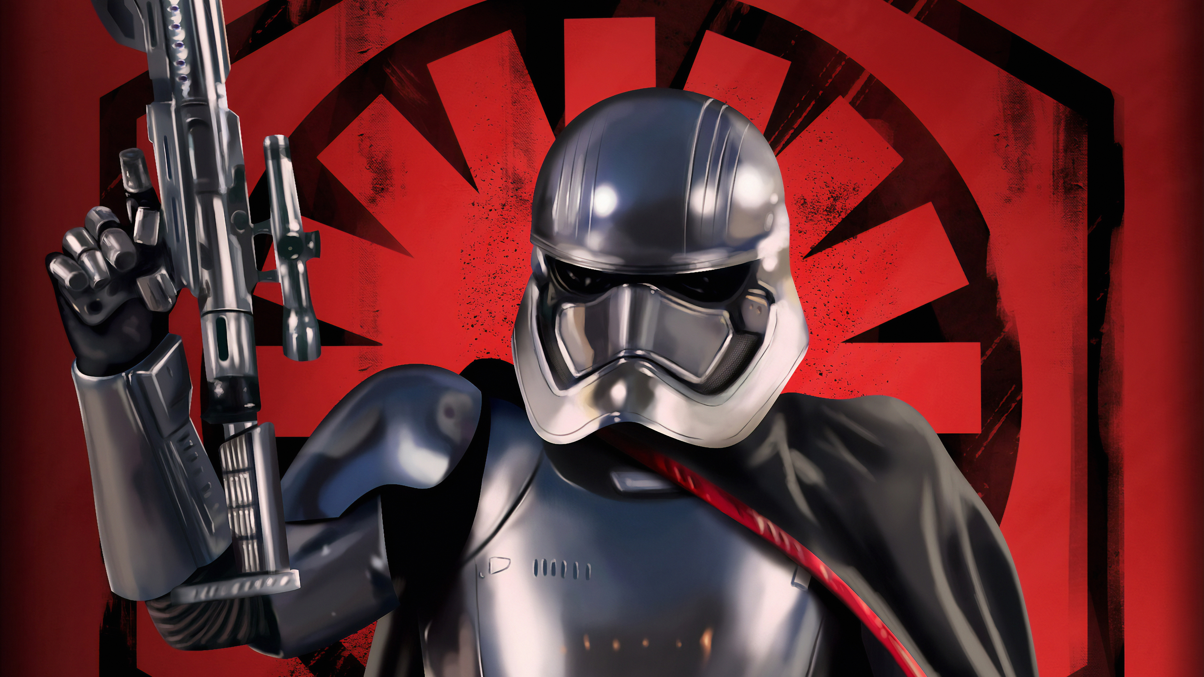 captain phasma art 1570394216 - Captain Phasma Art - superheroes wallpapers, star wars wallpapers, hd-wallpapers, captain phasma wallpapers, artwork wallpapers, 4k-wallpapers