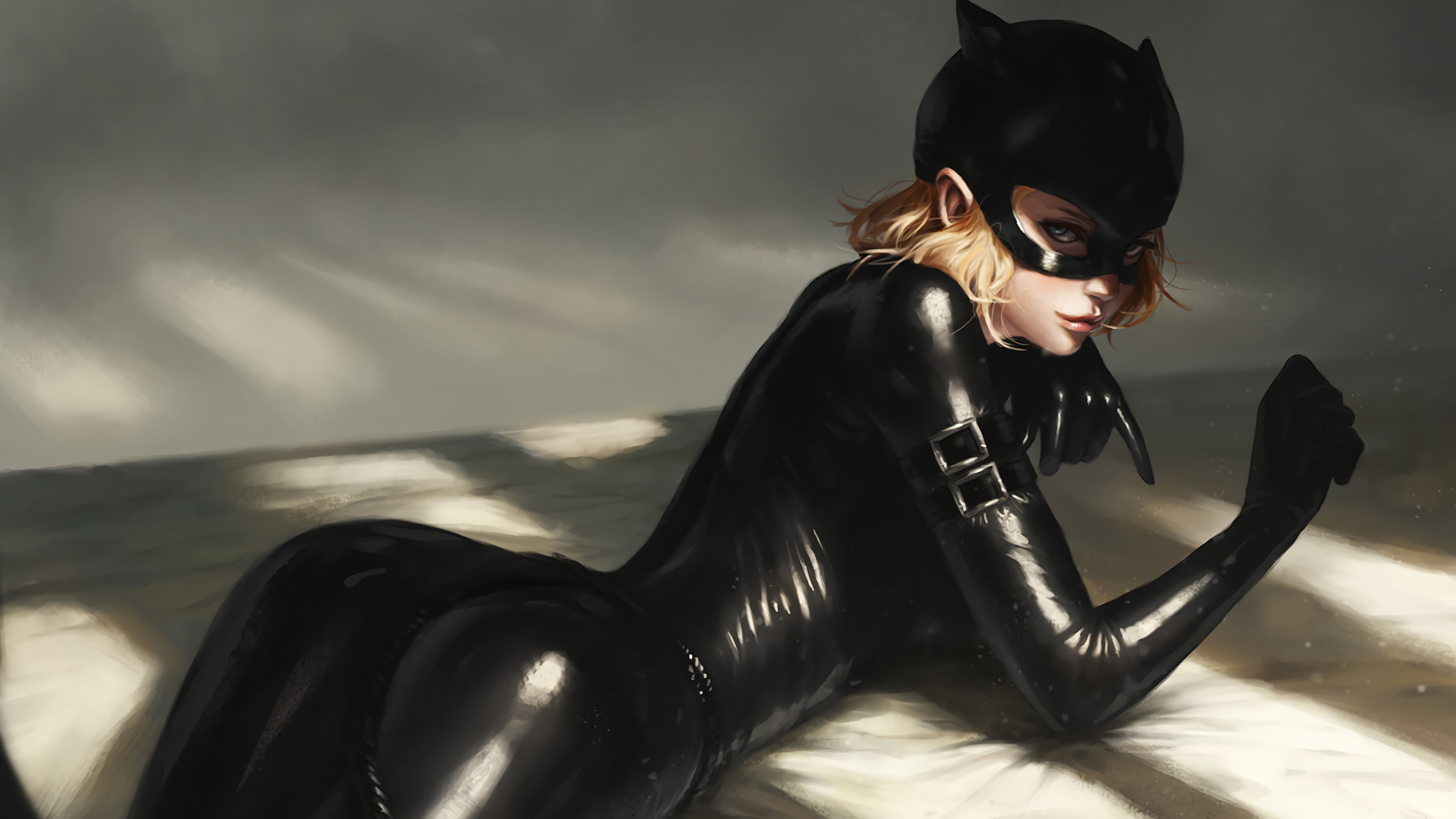 cat woman dc 1570394695 - Cat Woman Dc - superheroes wallpapers, hd-wallpapers, digital art wallpapers, catwoman wallpapers, artwork wallpapers, 4k-wallpapers