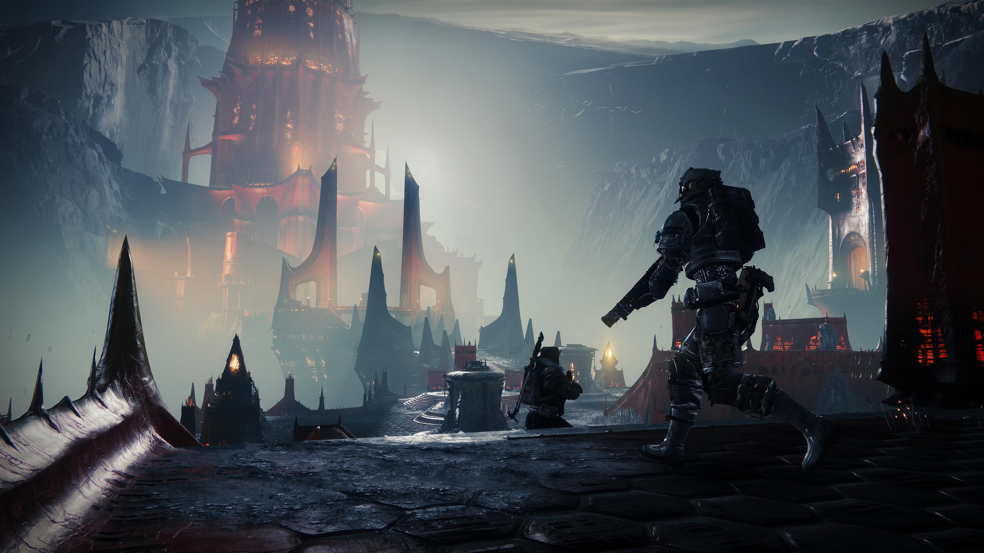 Wallpaper 4k Destiny 2 Shadow Keep 2019 Games Wallpapers 4k