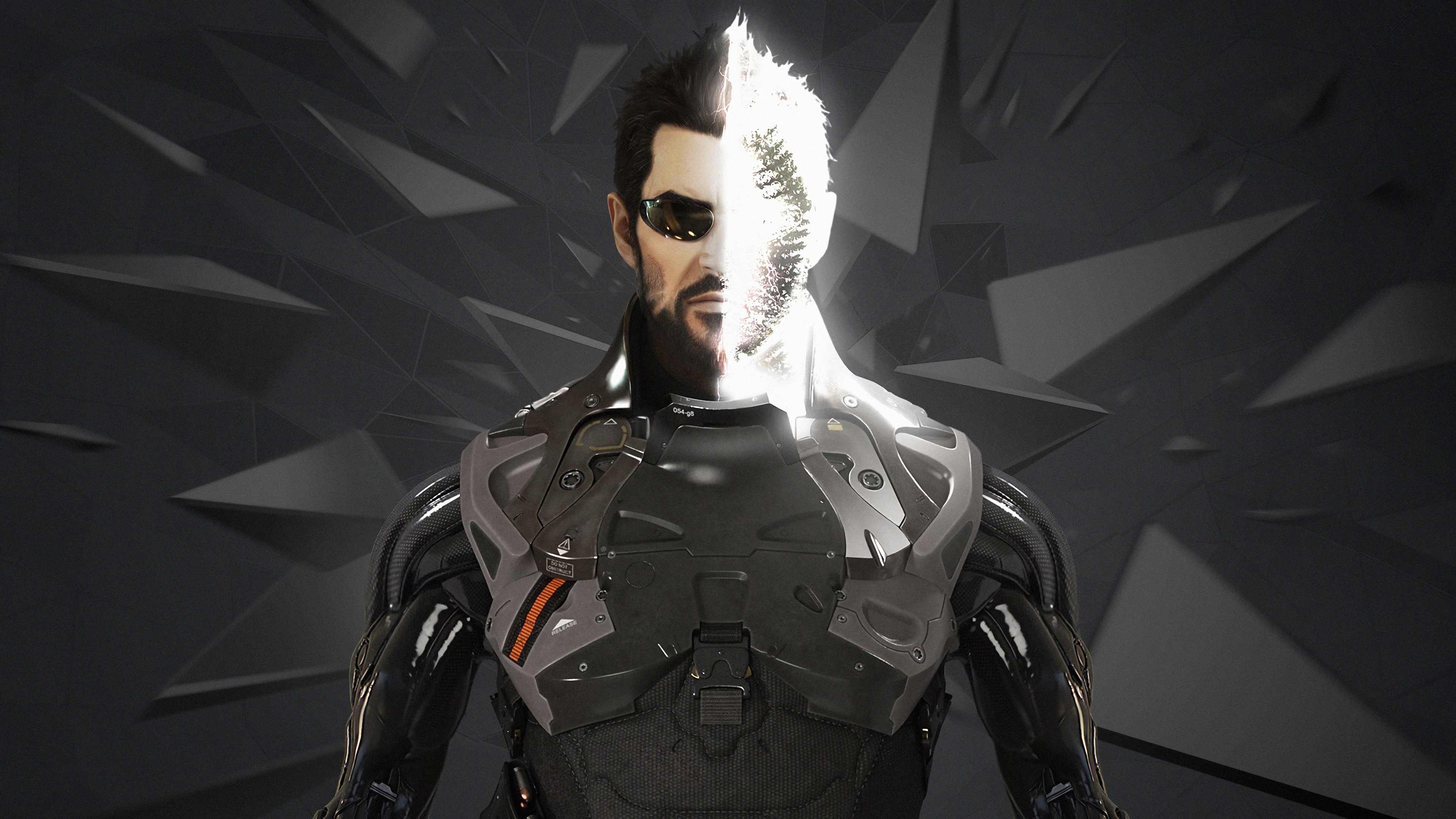 Wallpaper 4k Deus Ex Mankind Video Game 4k Wallpapers Deus Ex