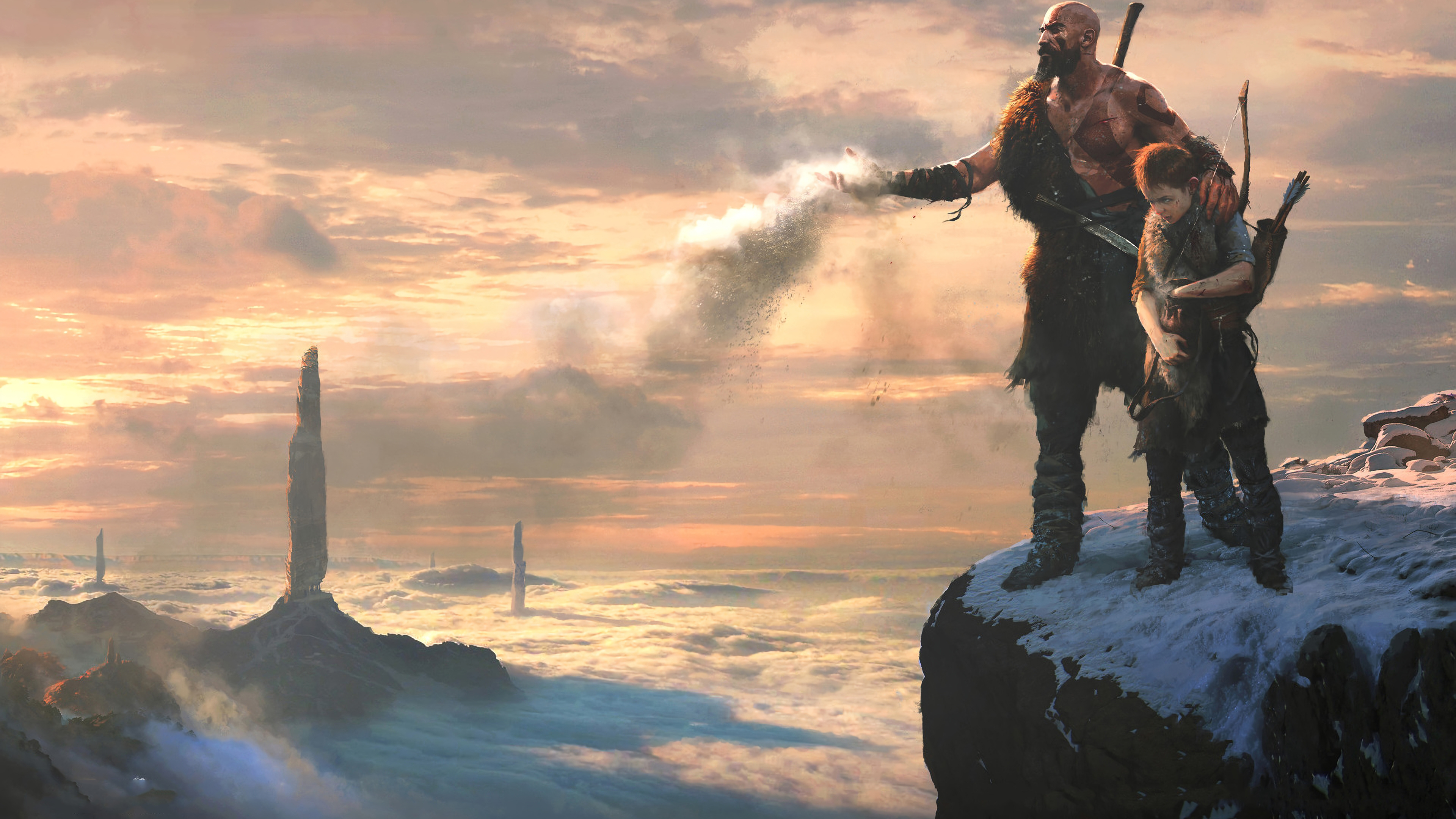 Wallpaper 4k God Of War 4 Ashes To Ashes 4k Wallpapers Games