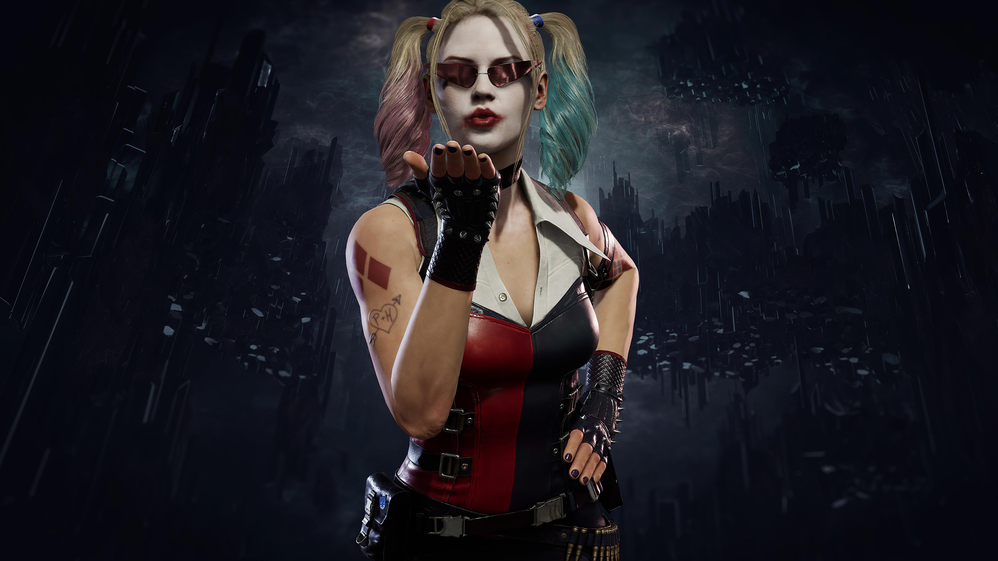 Wallpaper 4k Harley Quinn Mortal Kombat 11 2019 Games Wallpapers