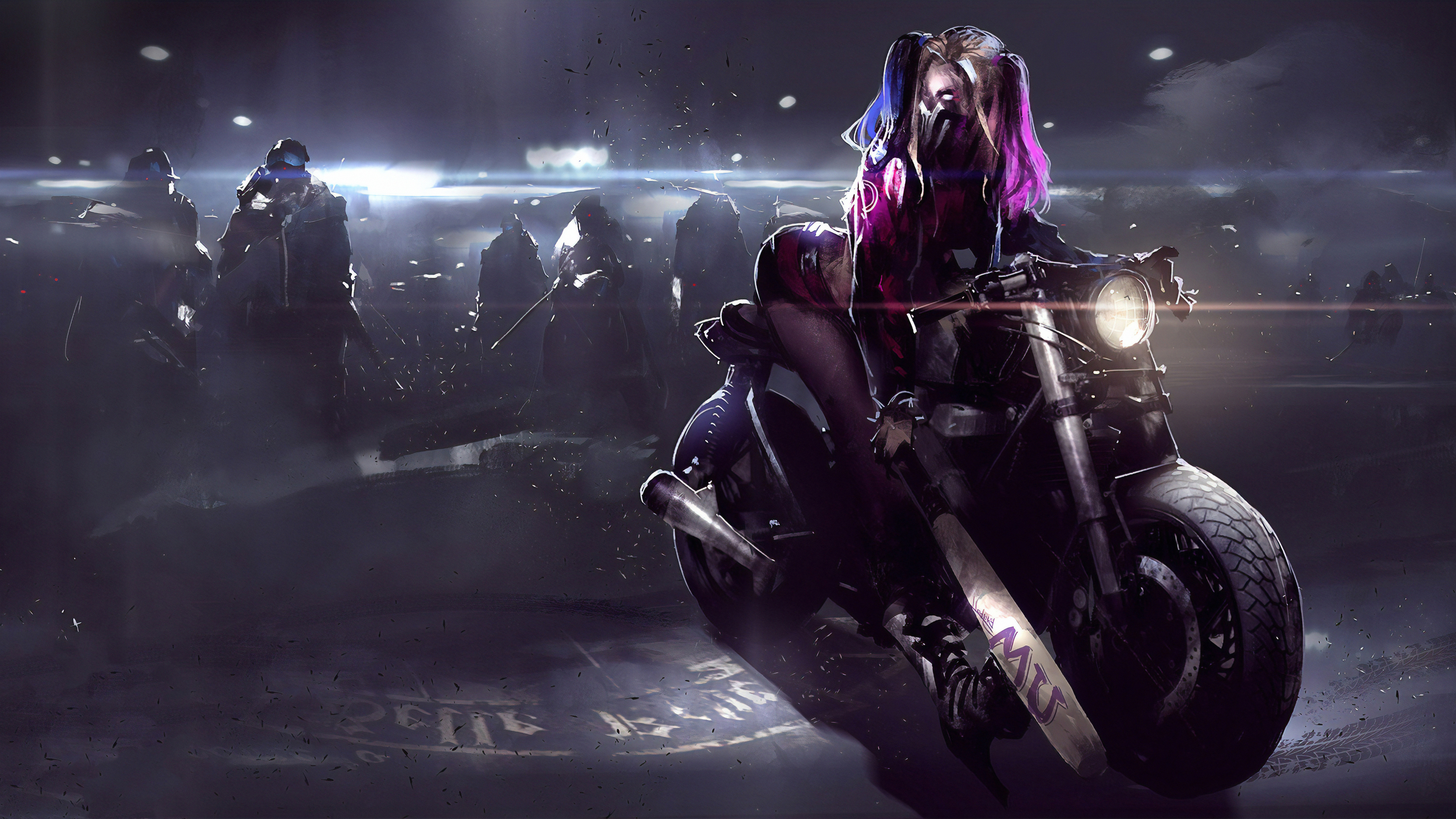 View Harley Quinn Wallpaper Hd 4K Background