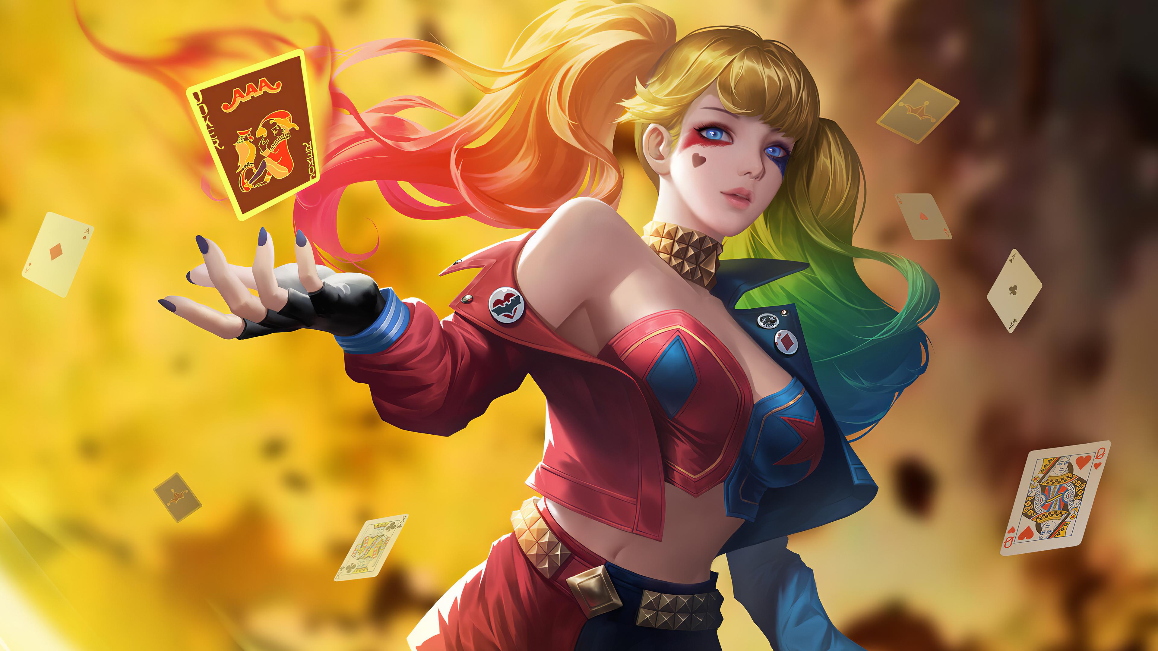 harley quinn play with me art 1572368976 - Harley Quinn Play With Me Art - superheroes wallpapers, hd-wallpapers, harley quinn wallpapers, digital art wallpapers, artwork wallpapers, artstation wallpapers, artist wallpapers, 4k-wallpapers
