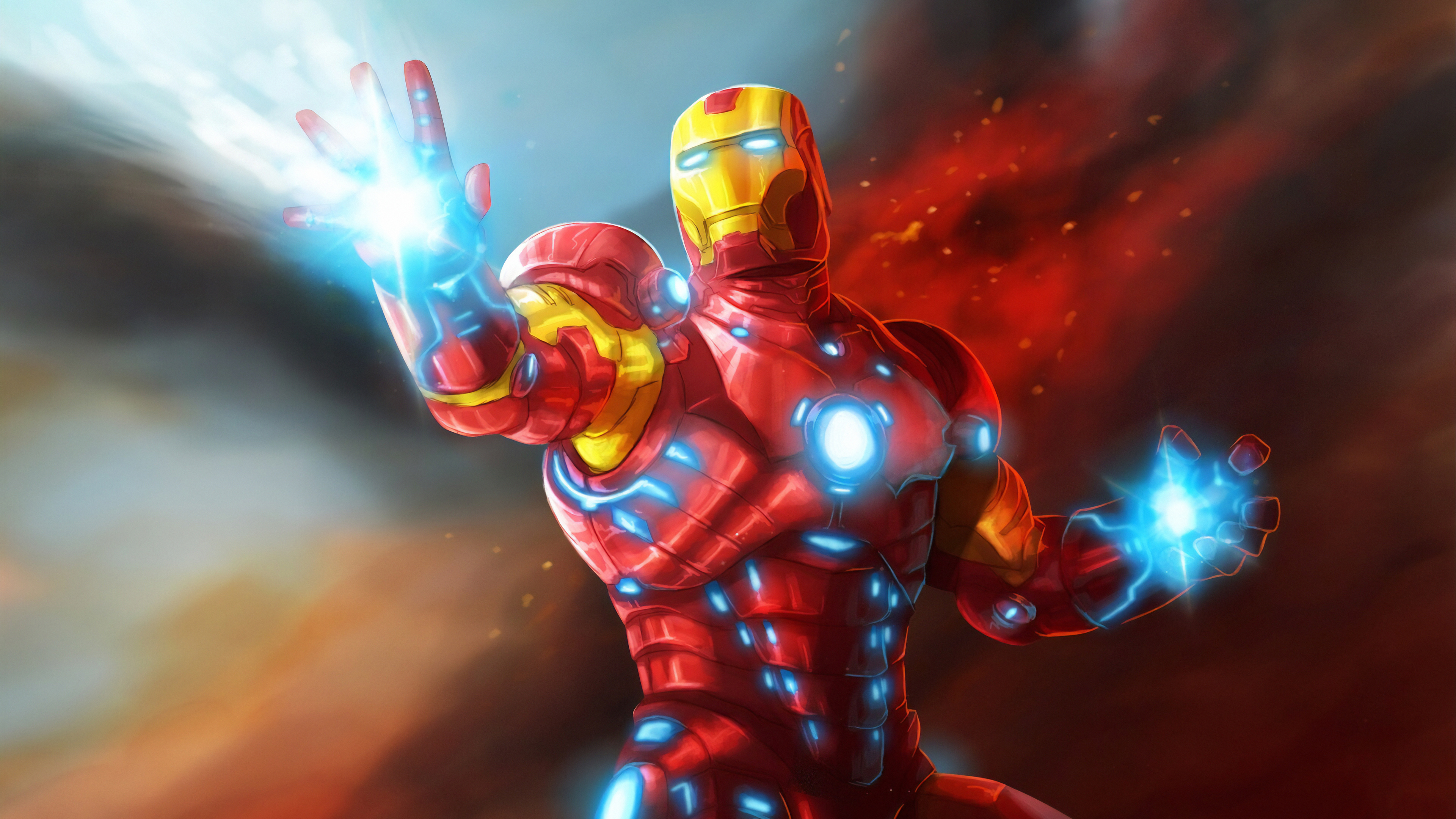 iron man new art 1570394395 - Iron Man New art - superheroes wallpapers, iron man wallpapers, hd-wallpapers, digital art wallpapers, artwork wallpapers, artstation wallpapers, 4k-wallpapers