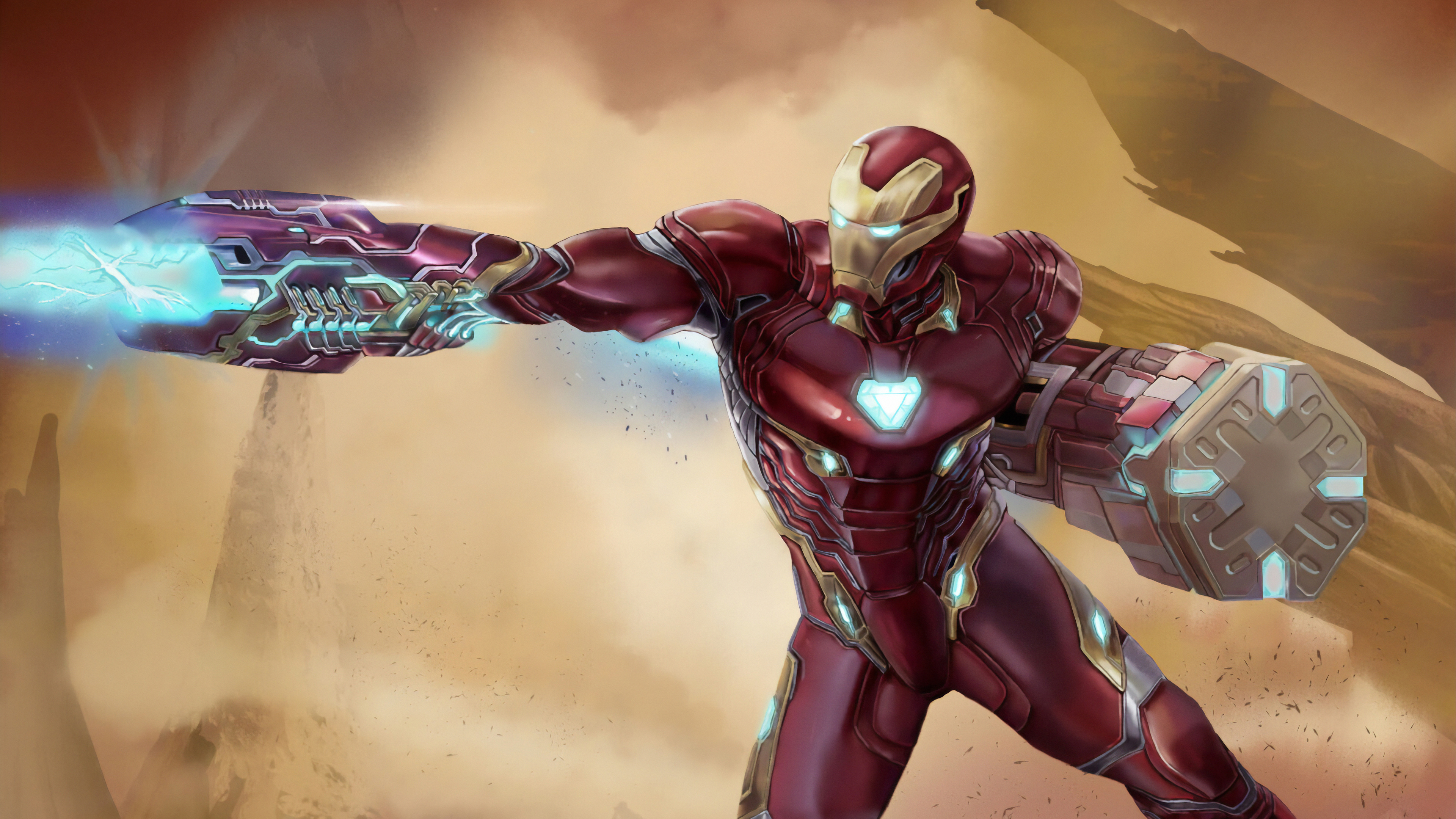 iron man newsuit art 1570918369 - Iron Man Newsuit Art - superheroes wallpapers, iron man wallpapers, hd-wallpapers, digital art wallpapers, artwork wallpapers, artstation wallpapers, 4k-wallpapers