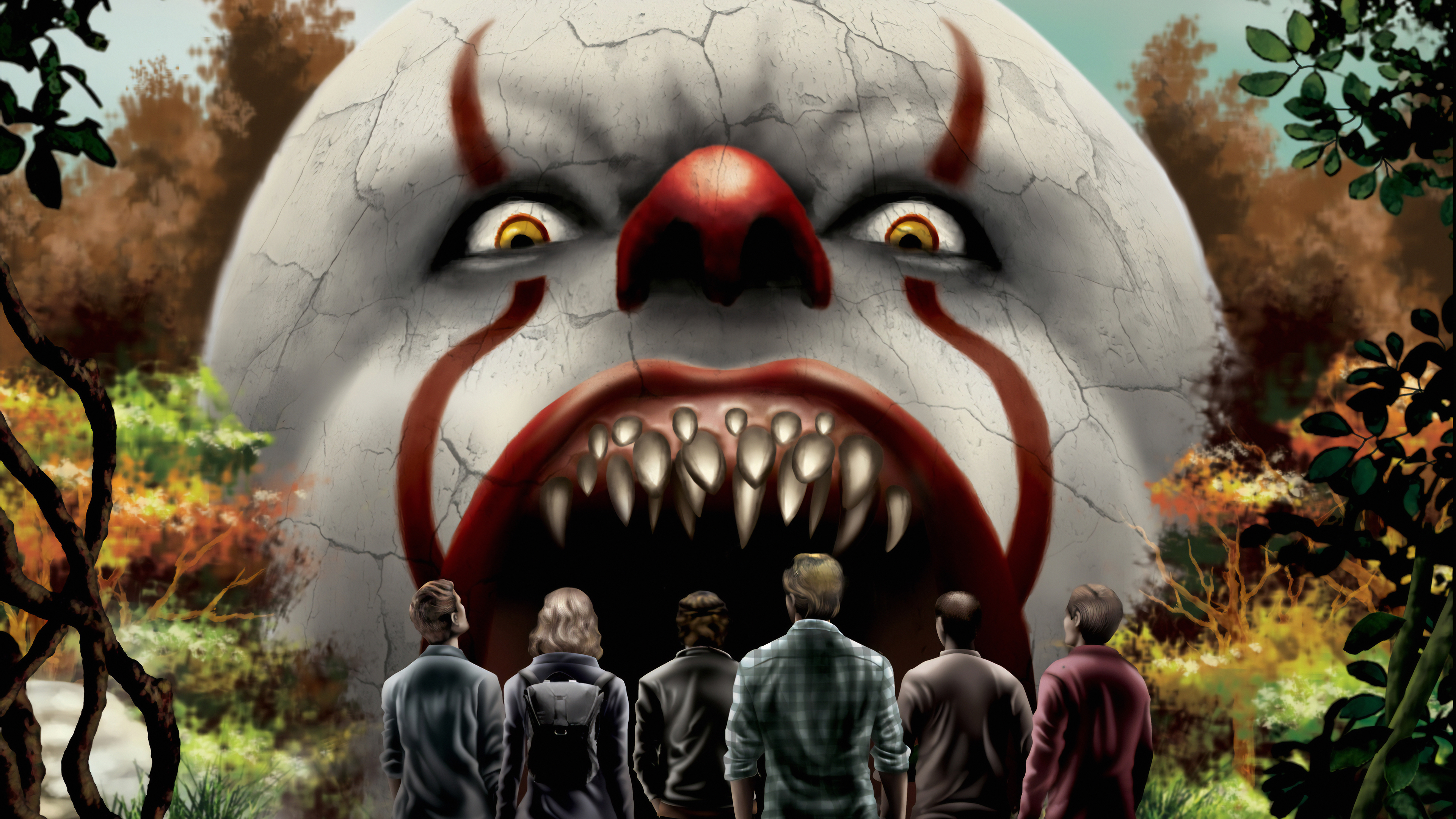 it chapter two poster art 1570919670 - It Chapter Two Poster Art - movies wallpapers, it wallpapers, it chapter two wallpapers, hd-wallpapers, 4k-wallpapers, 2019 movies wallpapers