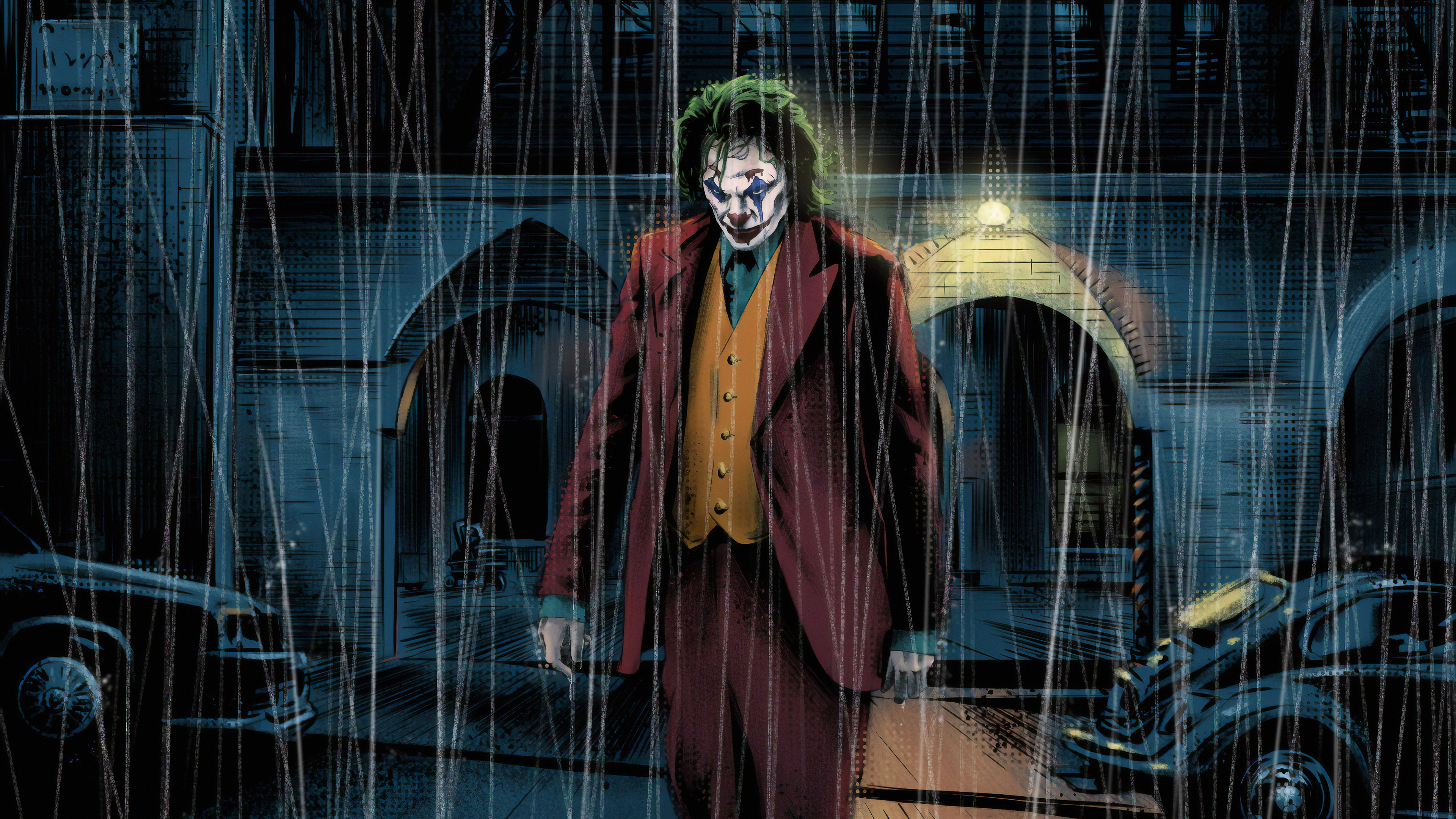 joker art 1572368509 - Joker art - superheroes wallpapers, joker wallpapers, hd-wallpapers, artwork wallpapers, 4k-wallpapers