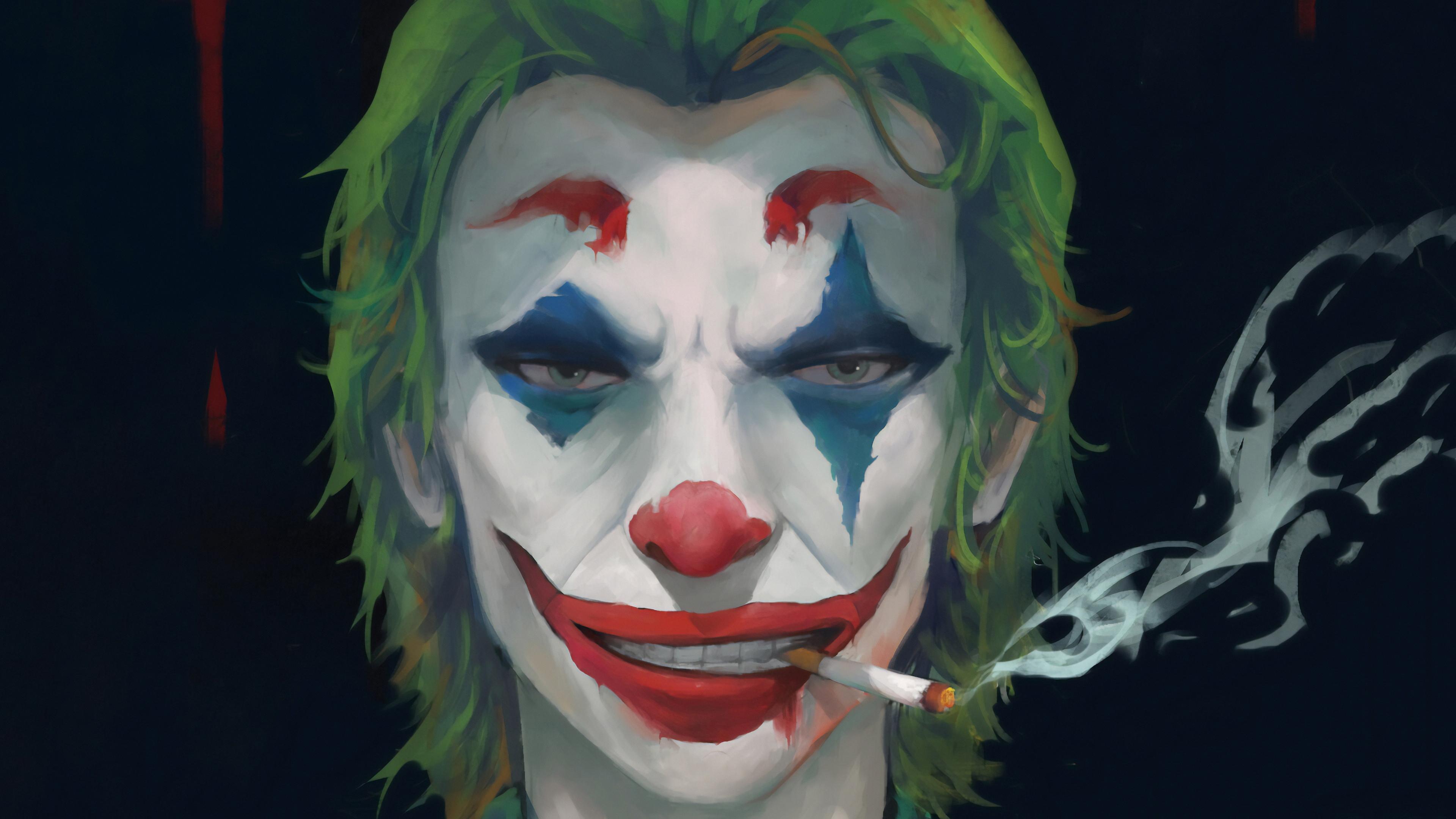 joker cigrate 1570394330 - Joker Cigrate - supervillain wallpapers, superheroes wallpapers, joker wallpapers, hd-wallpapers, artwork wallpapers
