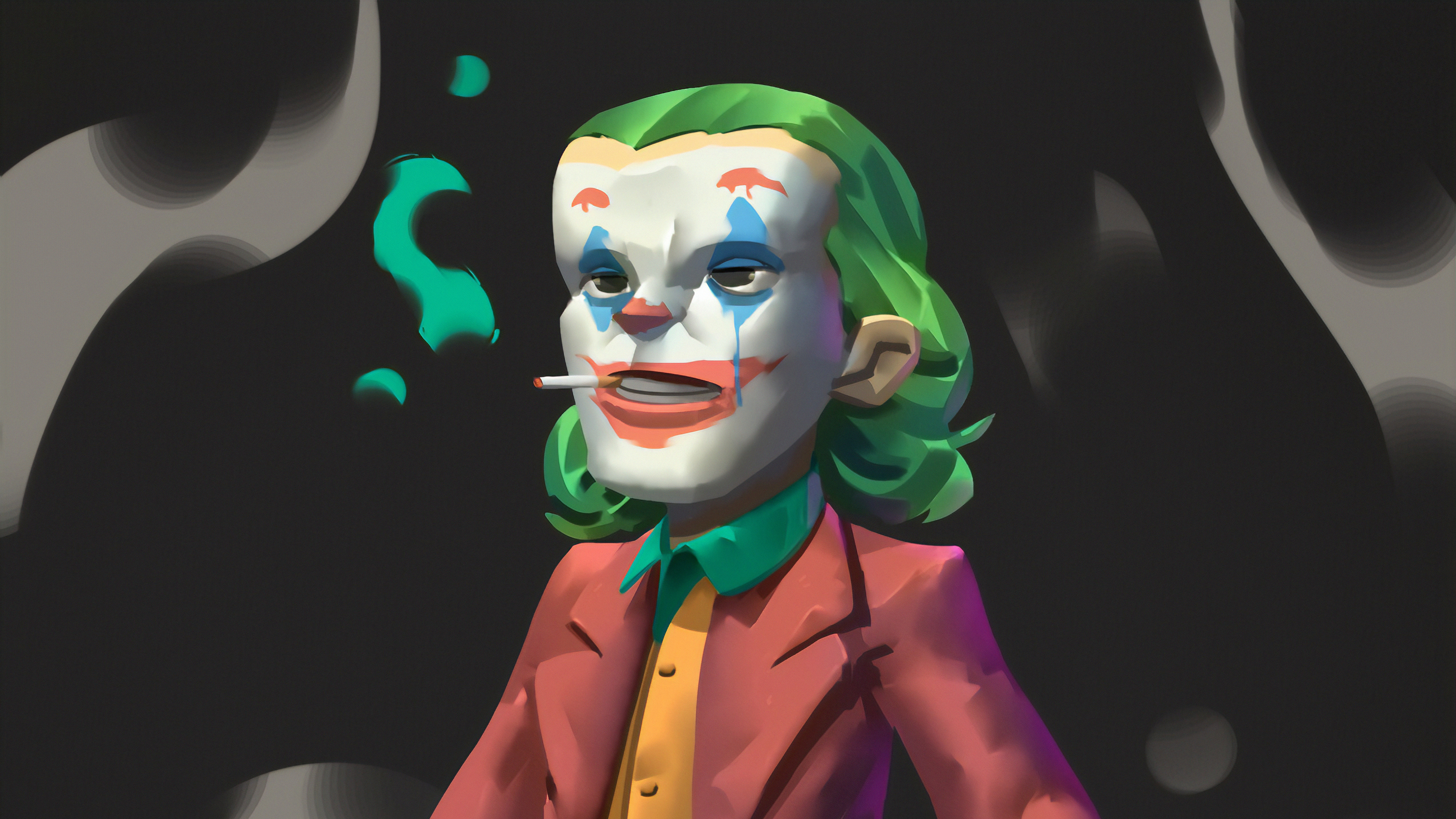 joker cigratte smoking art 1572367500 - Joker Cigratte Smoking Art - superheroes wallpapers, joker wallpapers, hd-wallpapers, dc comics wallpapers, artstation wallpapers, 4k-wallpapers