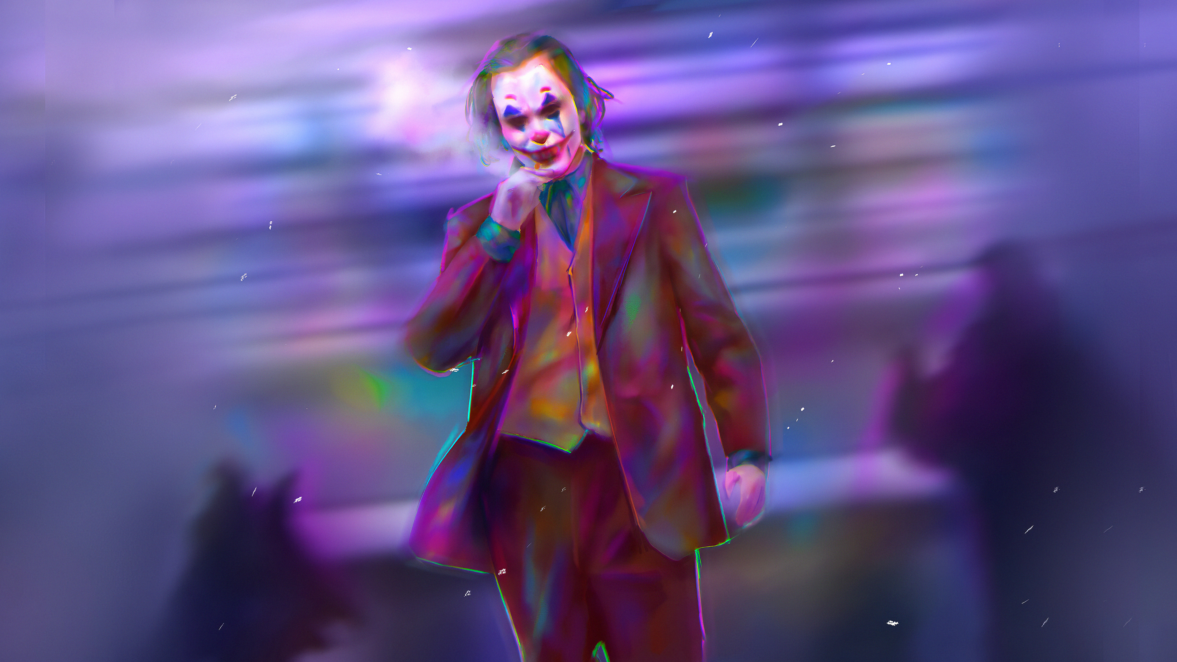 joker colorful art 1572368789 - Joker Colorful Art - supervillain wallpapers, superheroes wallpapers, joker wallpapers, joker movie wallpapers, hd-wallpapers, 4k-wallpapers