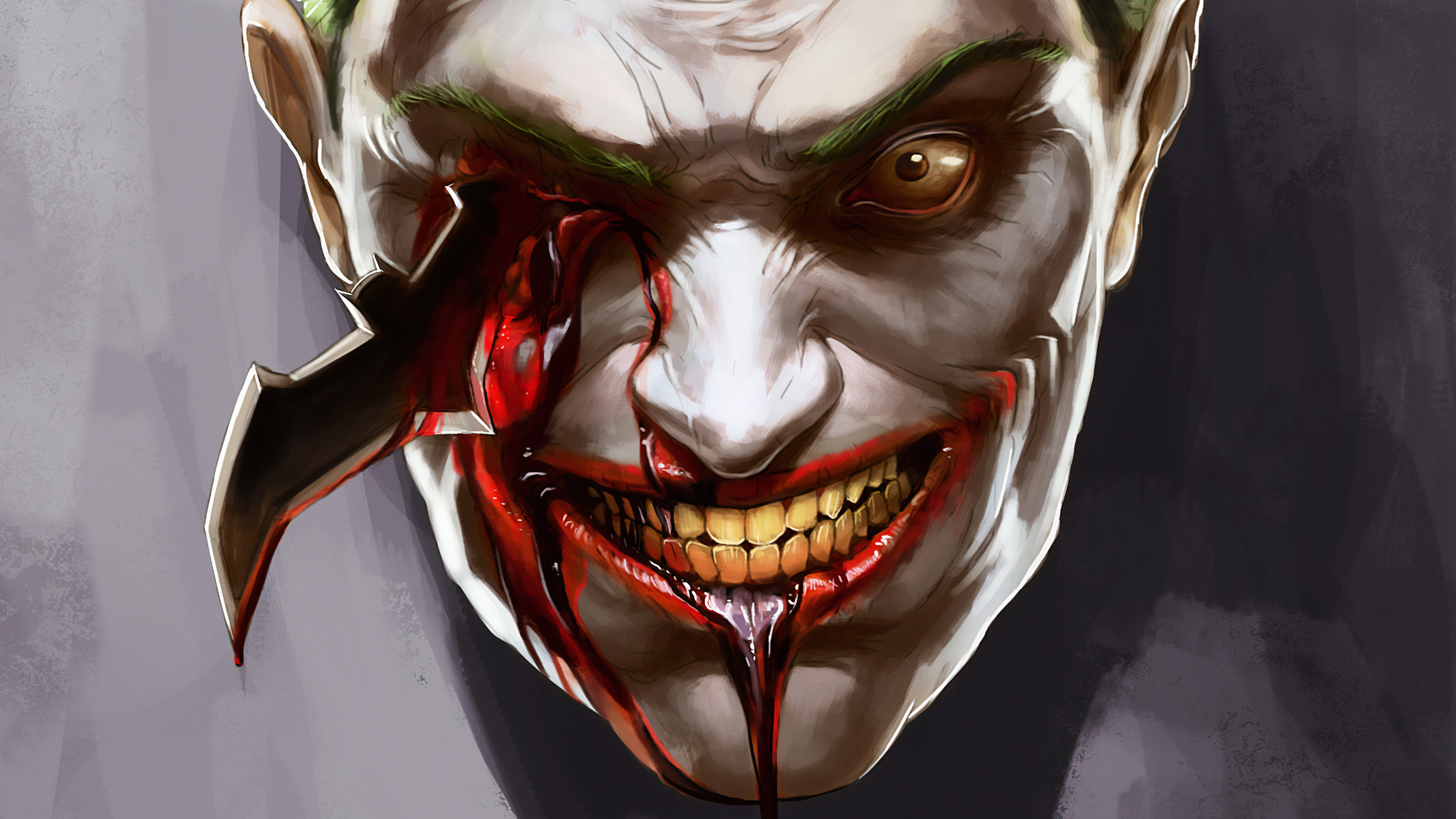 joker eye destroyed with batrage 1570394485 - Joker Eye Destroyed With Batrage - superheroes wallpapers, joker wallpapers, hd-wallpapers, dc comics wallpapers, artstation wallpapers, 4k-wallpapers