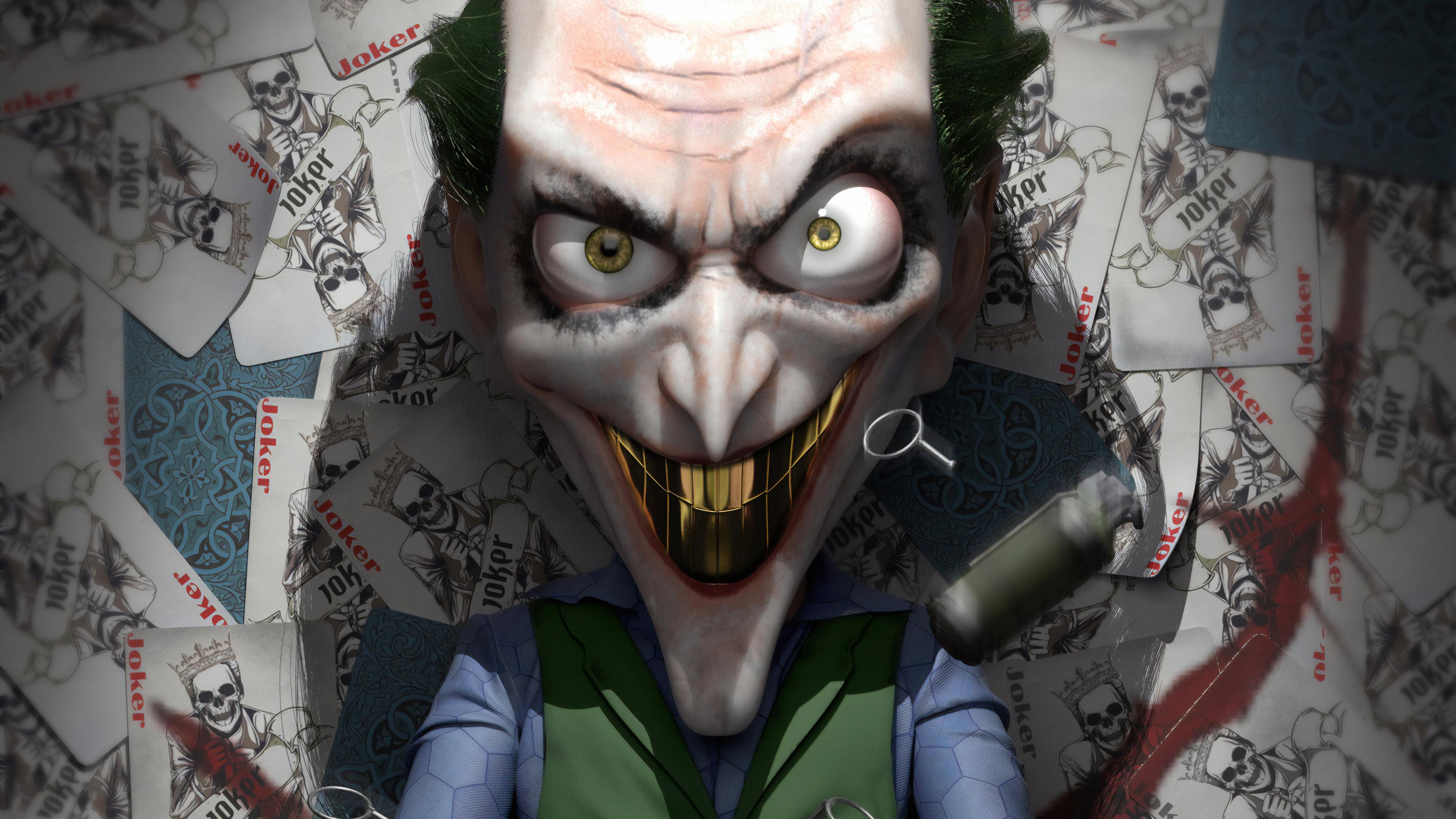 joker golden teeth 1570394185 - Joker Golden Teeth - superheroes wallpapers, joker wallpapers, hd-wallpapers, dc comics wallpapers, artstation wallpapers, 4k-wallpapers