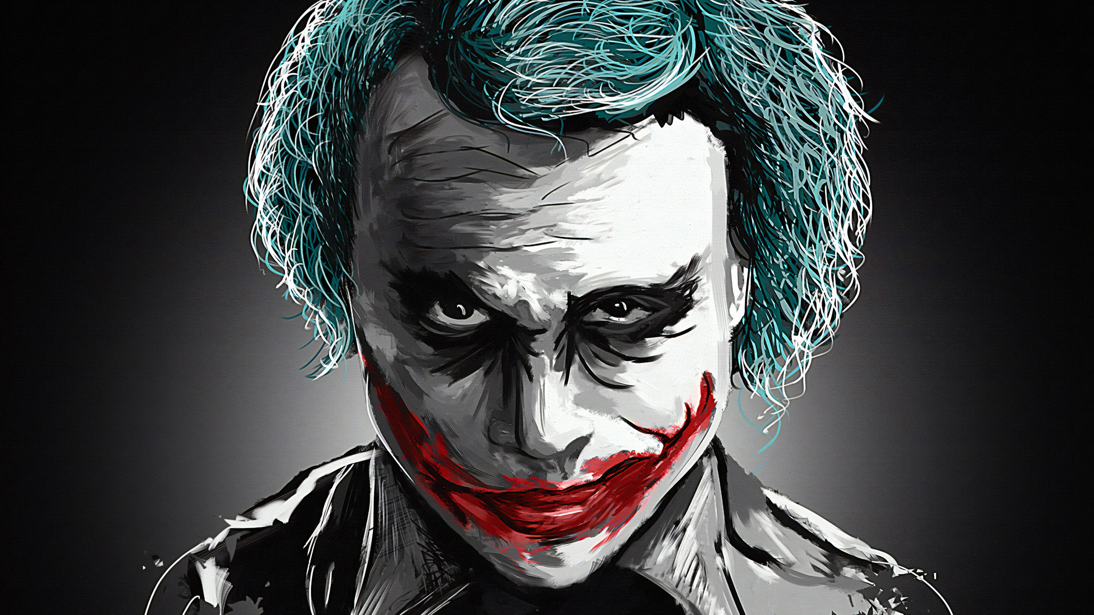 joker heath ledger art 1570394727 - Joker Heath Ledger Art - superheroes wallpapers, joker wallpapers, hd-wallpapers, dc comics wallpapers, artstation wallpapers, 4k-wallpapers