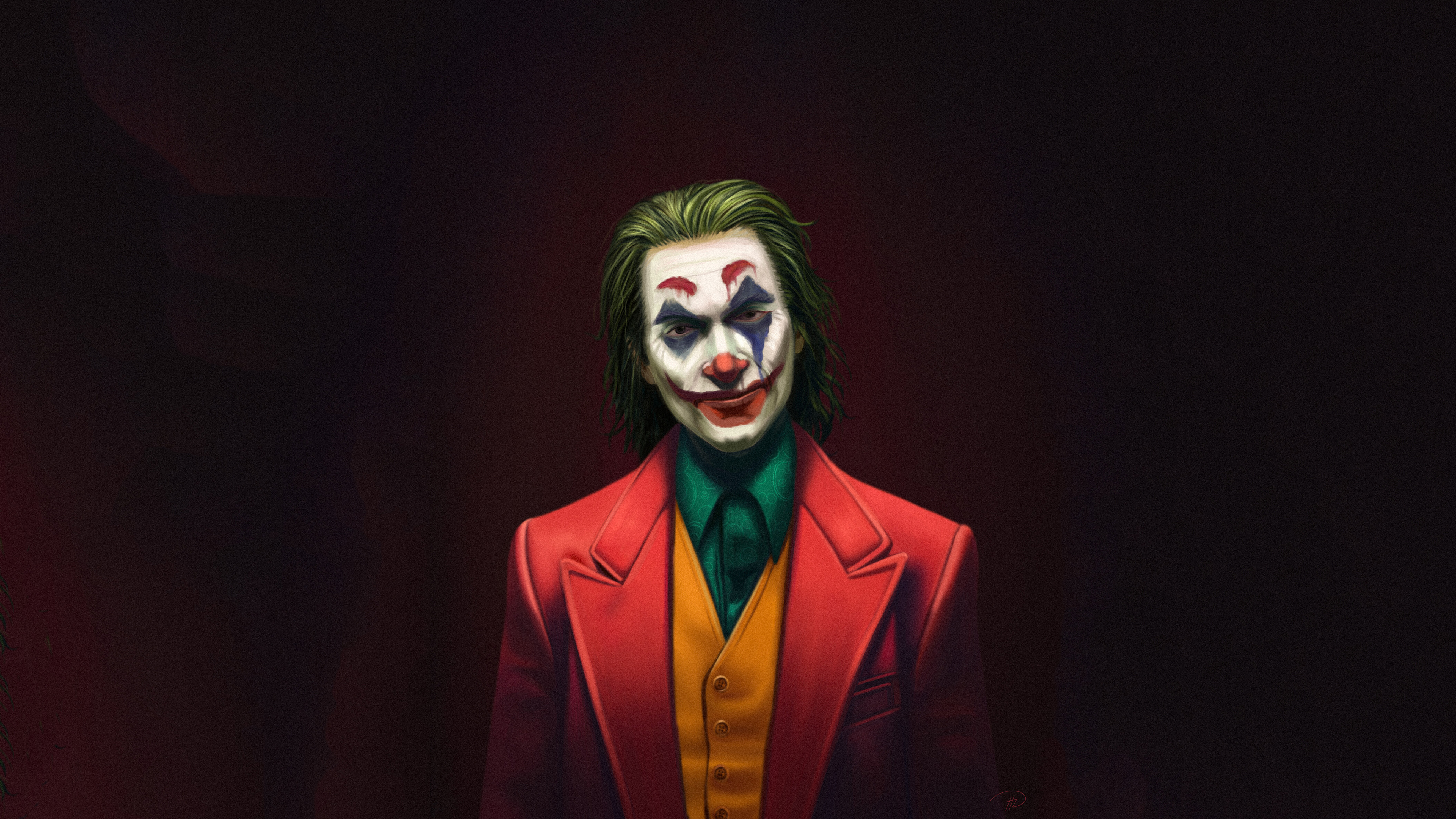 joker movie joaquin phoenix art 1570918974 - Joker Movie Joaquin Phoenix Art - supervillain wallpapers, superheroes wallpapers, joker wallpapers, joker movie wallpapers, hd-wallpapers, artwork wallpapers, 4k-wallpapers