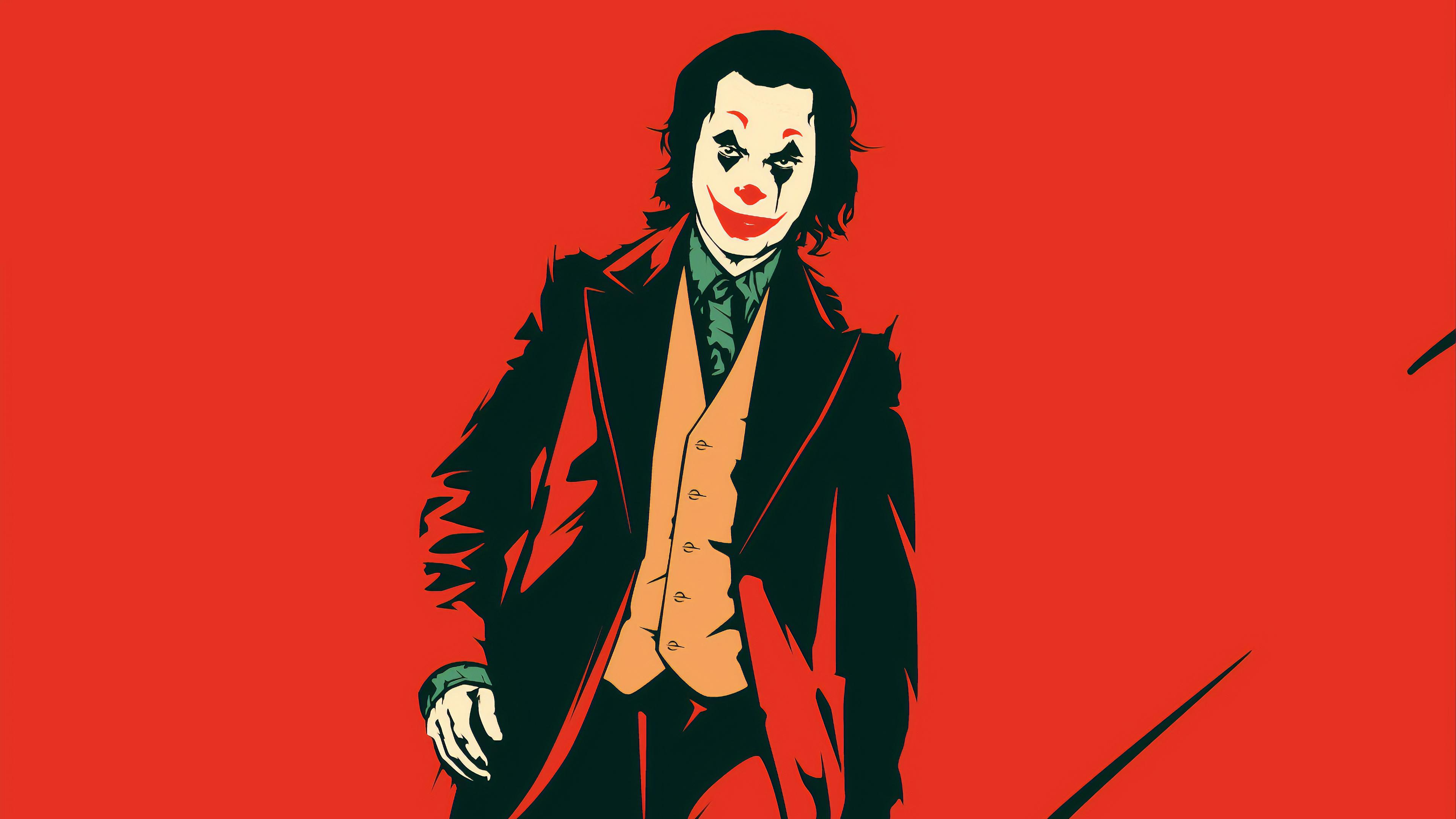 joker red 1570919686 - Joker Red - poster wallpapers, movies wallpapers, joker wallpapers, joker movie wallpapers, joaquin phoenix wallpapers, hd-wallpapers, behance wallpapers, 2019 movies wallpapers