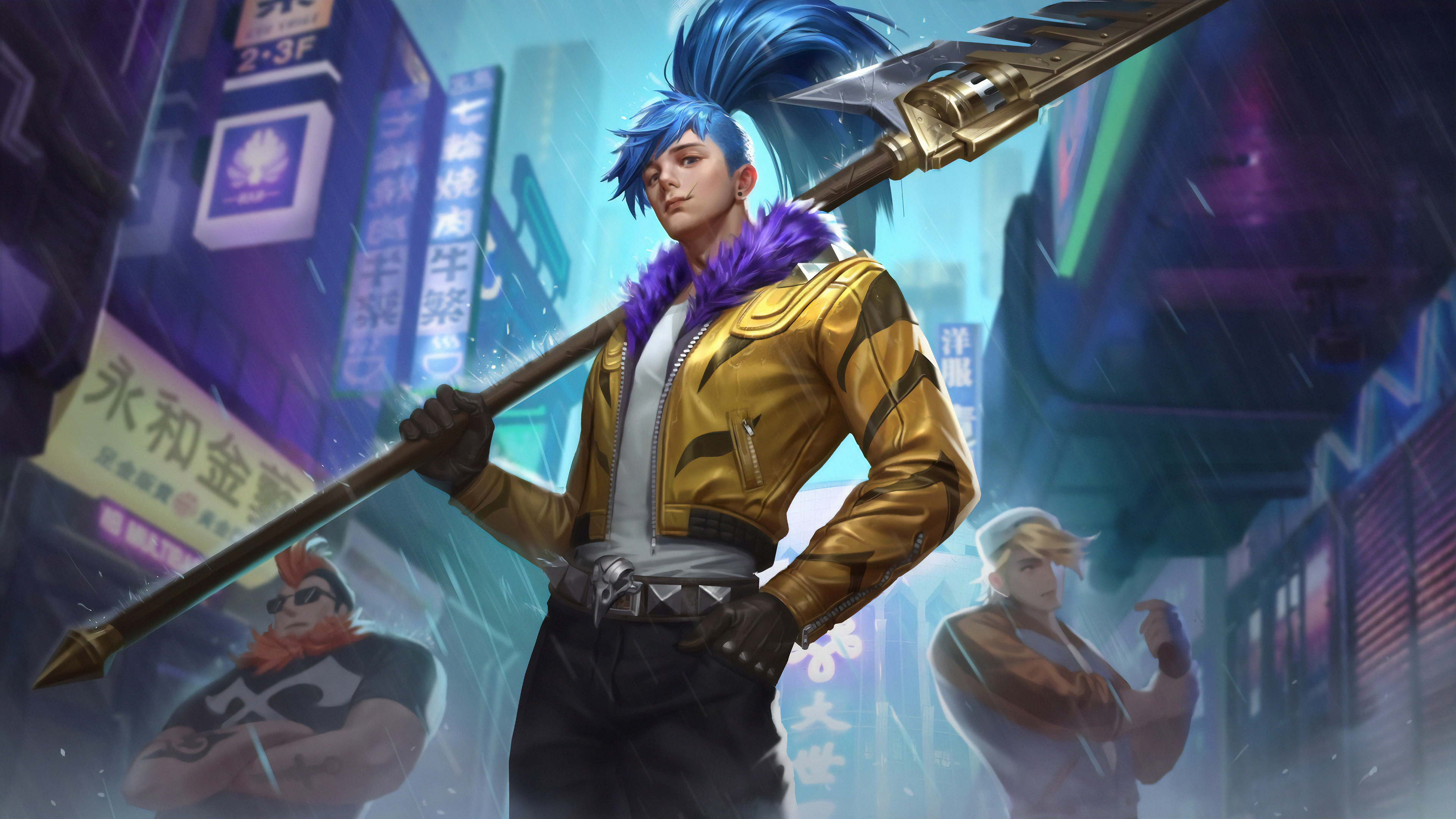 king glory hanshin street fighter 1570393538 - King Glory Hanshin Street Fighter - king glory wallpapers, hd-wallpapers, games wallpapers, artstation wallpapers, 4k-wallpapers