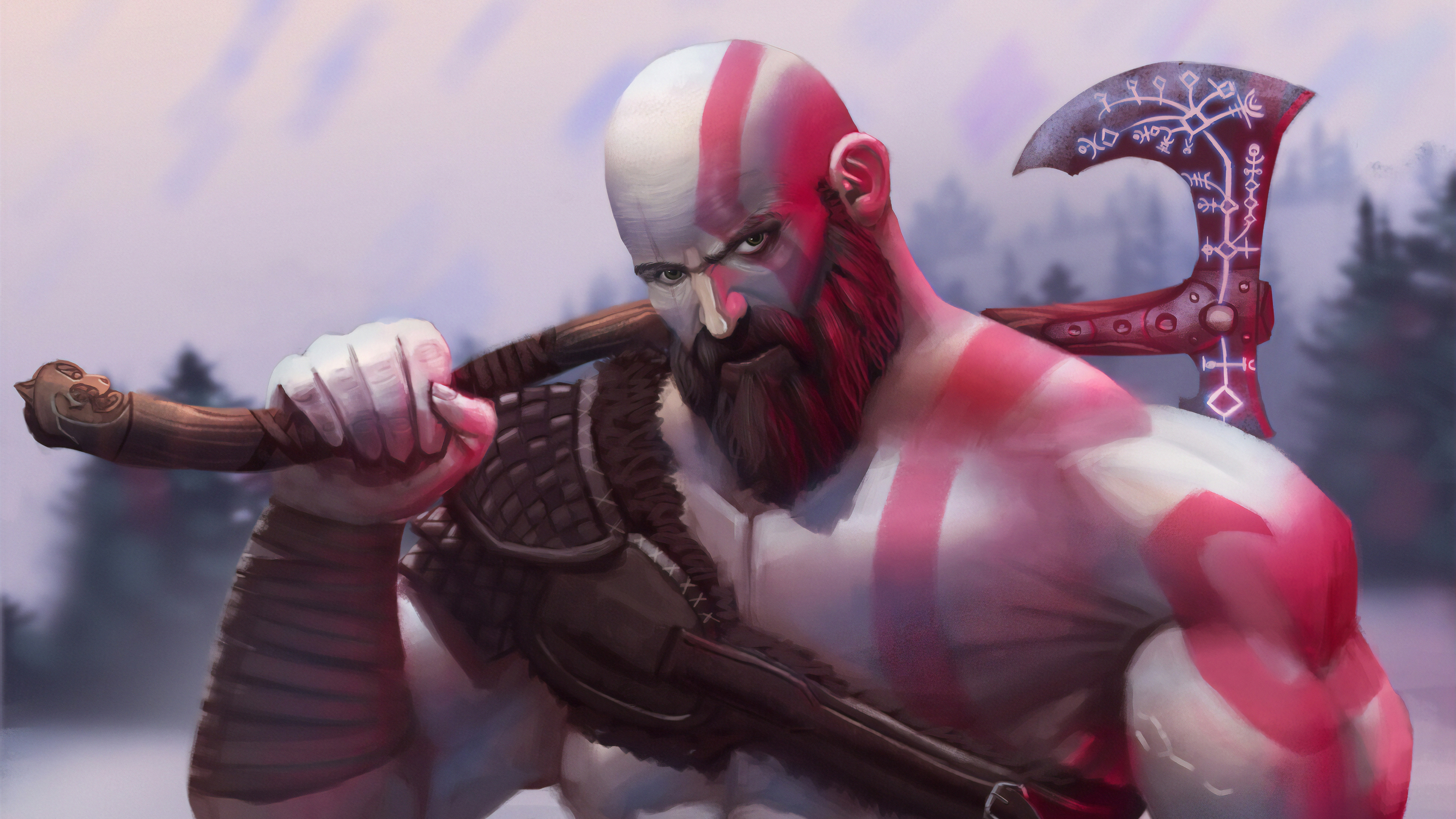 kratos hammer 1572370679 - Kratos Hammer - kratos wallpapers, hd-wallpapers, games wallpapers, artwork wallpapers, artstation wallpapers, 4k-wallpapers