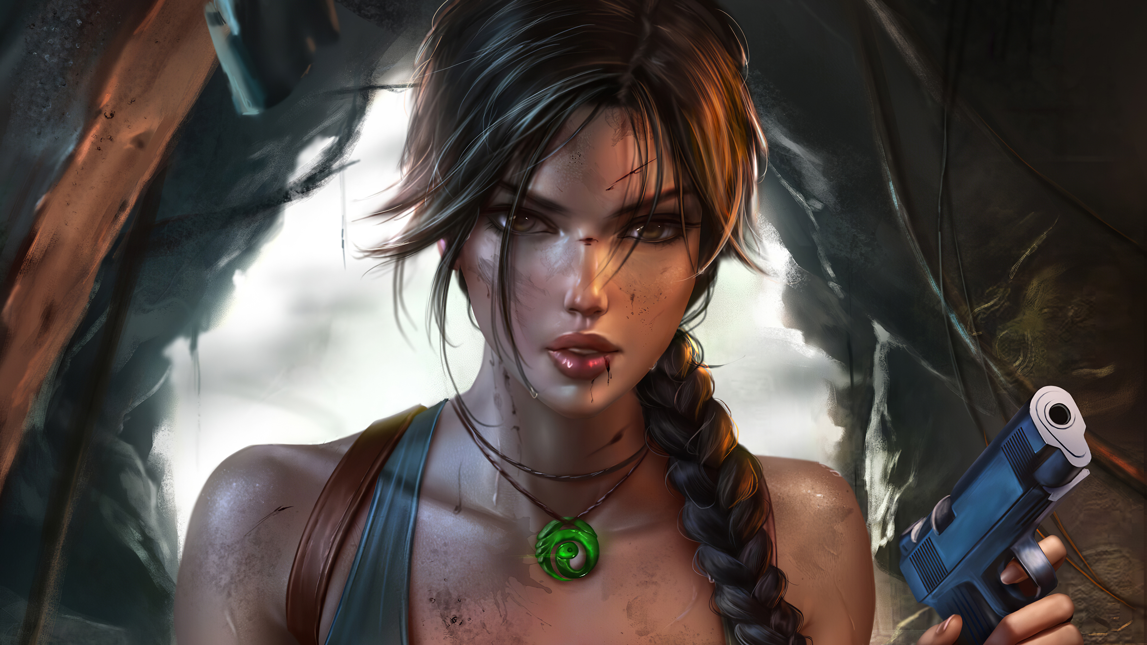 lara croft tomb raider fantasy 1572369938 - Lara Croft Tomb Raider Fantasy - tomb raider wallpapers, lara croft wallpapers, hd-wallpapers, games wallpapers, digital art wallpapers, artwork wallpapers, artstation wallpapers, artist wallpapers, 4k-wallpapers