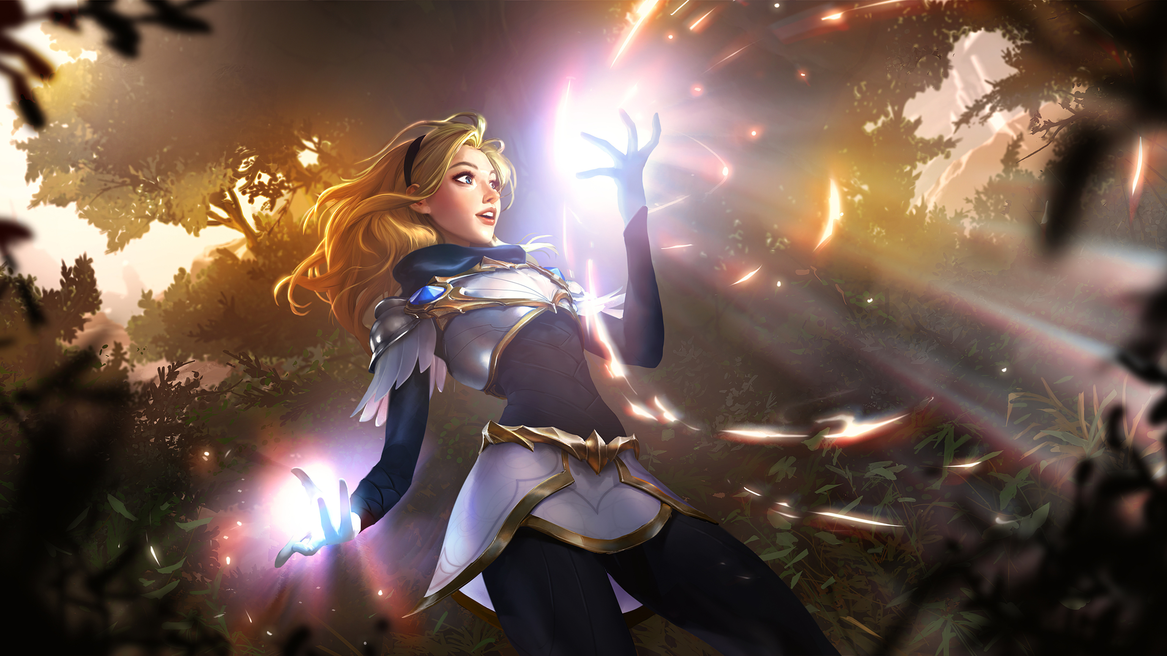 Wallpaper 4k Lux Lol Art League Of Legends Wallpapers