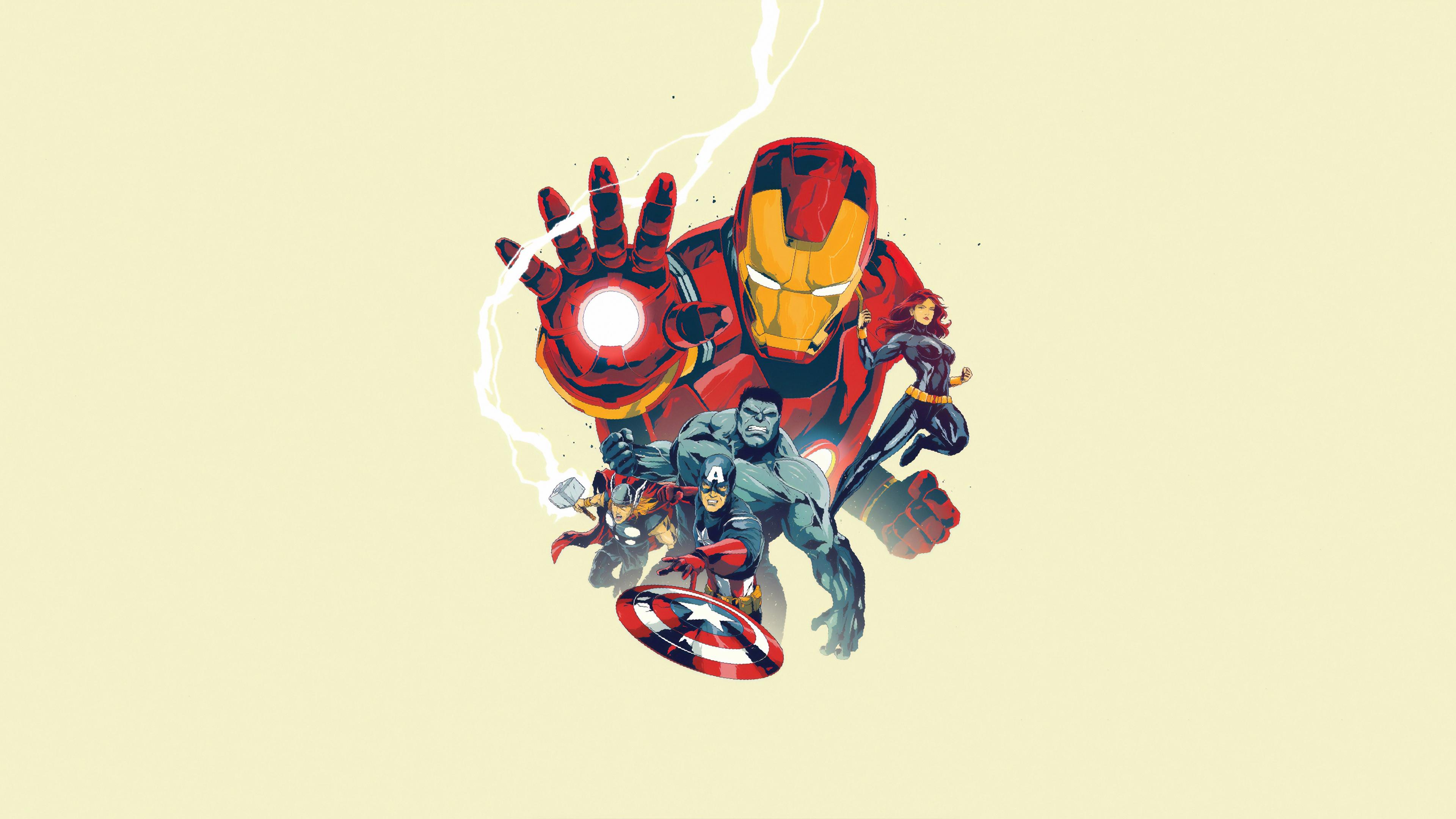 marvel heroes arts 1570918569 - Marvel Heroes Arts - superheroes wallpapers, iron man wallpapers, hd-wallpapers, artwork wallpapers, 4k-wallpapers