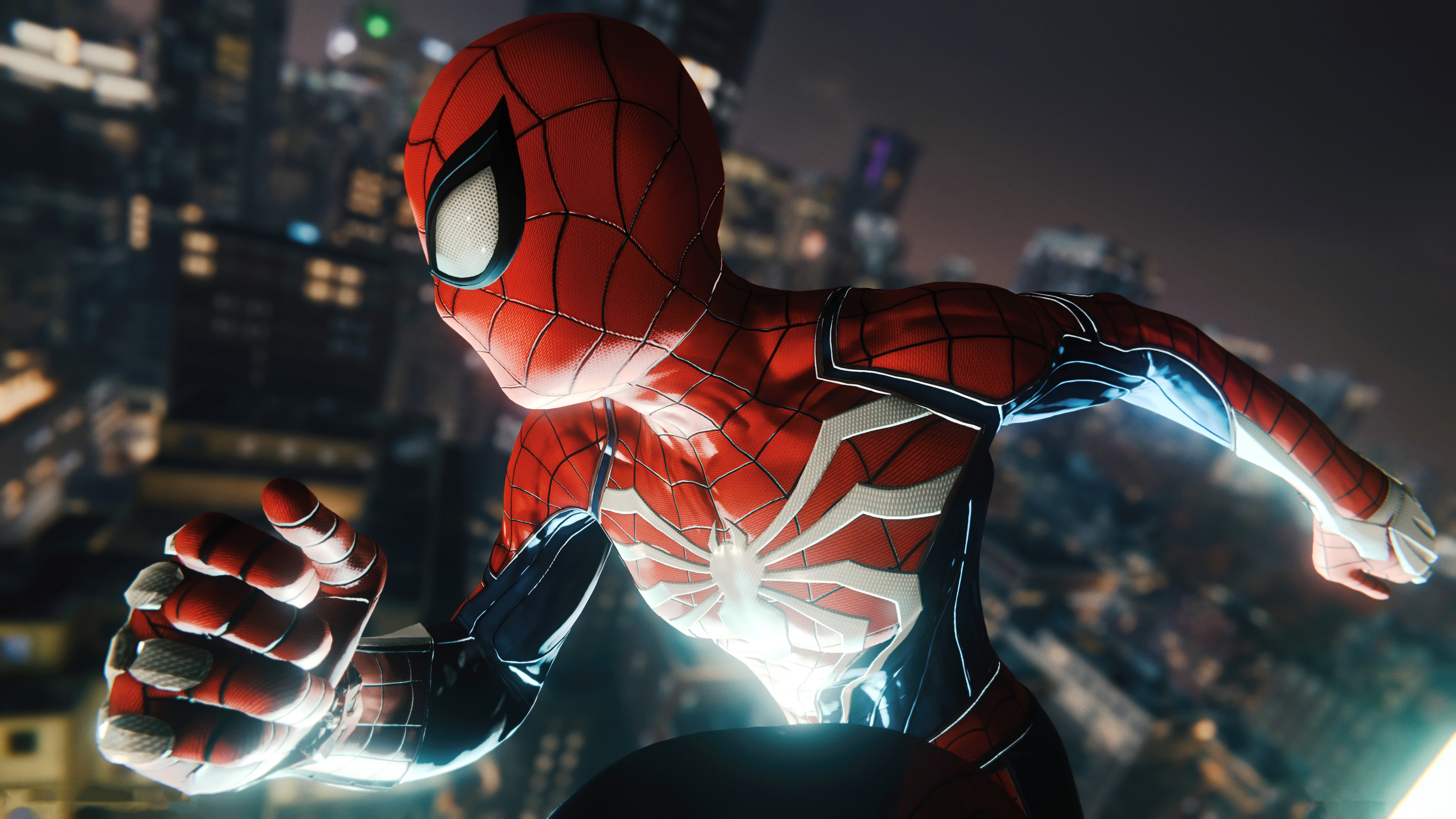 Wallpaper 4k Marvel Spiderman Ps4 Game 2019 2019 Games