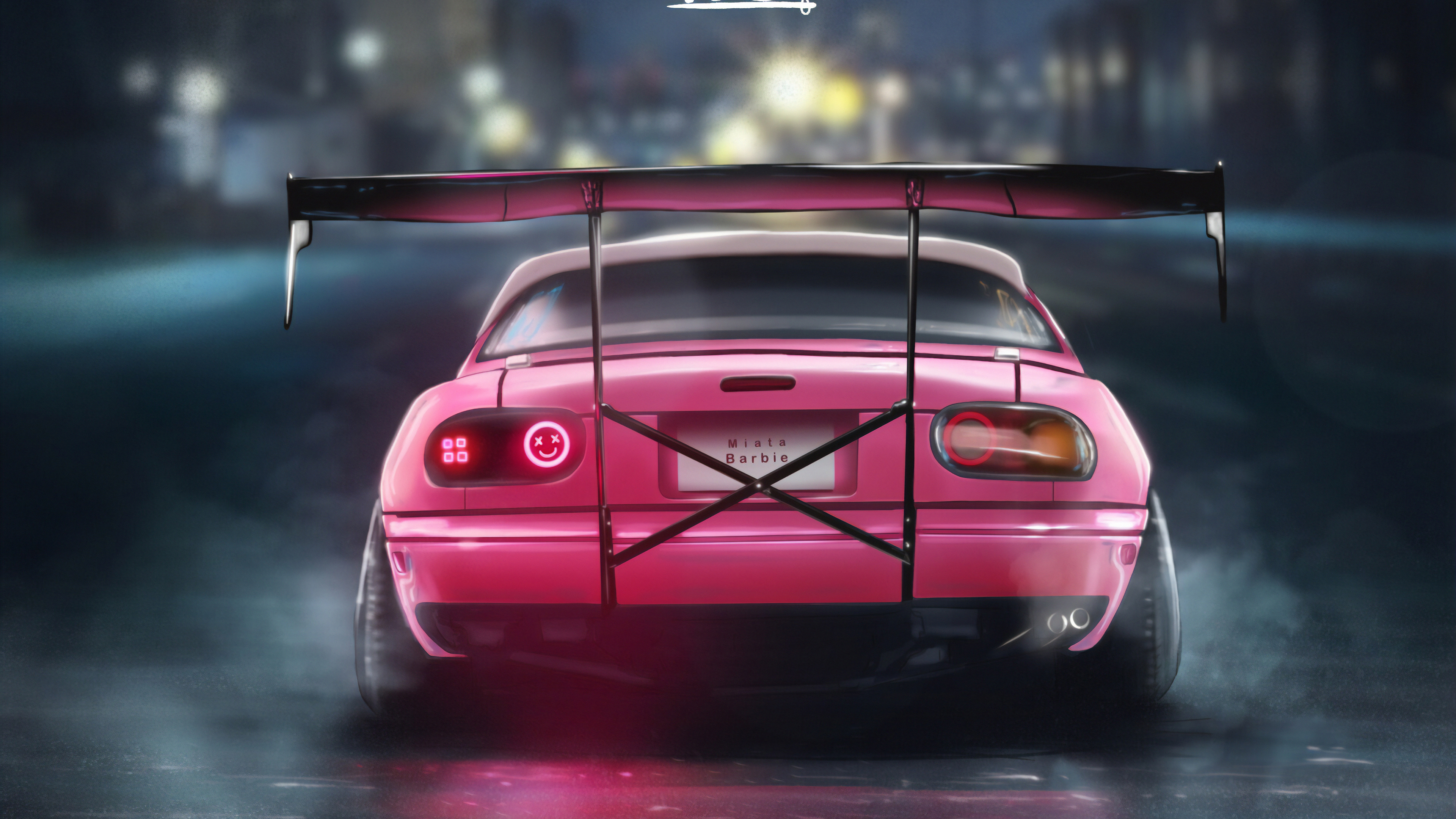 mazda rear 1570392203 - Mazda Rear - mazda wallpapers, hd-wallpapers, cars wallpapers, artist wallpapers, arstation wallpapers, 4k-wallpapers