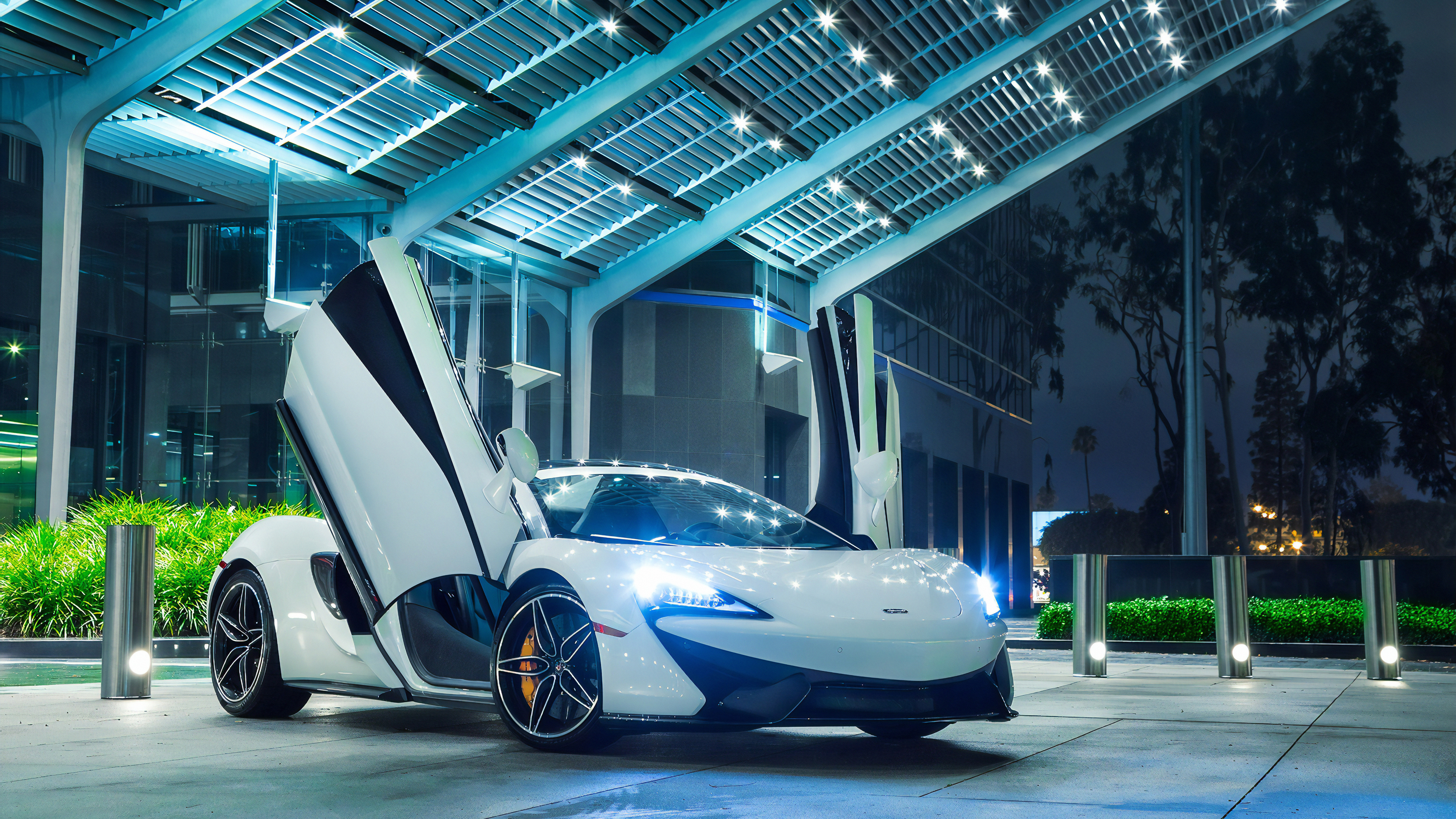 mclaren white 1570919104 - Mclaren White - mclaren wallpapers, hd-wallpapers, cars wallpapers, behance wallpapers, 4k-wallpapers