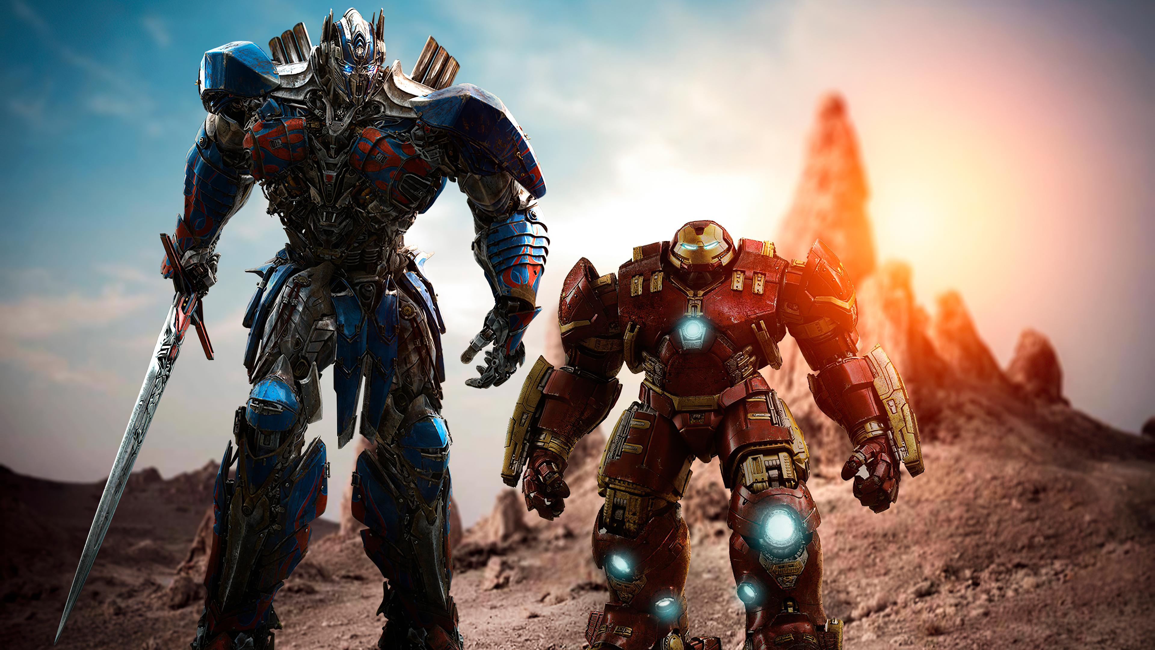 optimus prime and hulk buster 1572368336 - Optimus Prime And Hulk Buster - superheroes wallpapers, optimus prime wallpapers, hulkbuster wallpapers, hd-wallpapers, deviantart wallpapers, 4k-wallpapers