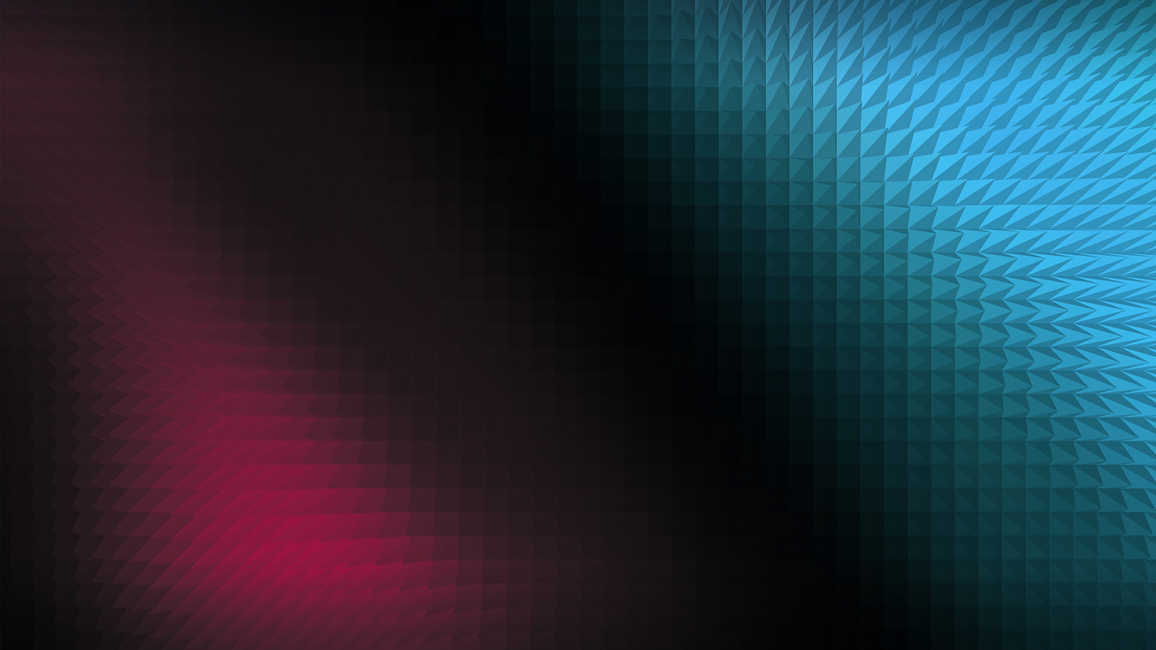 Wallpaper 4k Pyramid Gradient Light Flares 4k Wallpapers